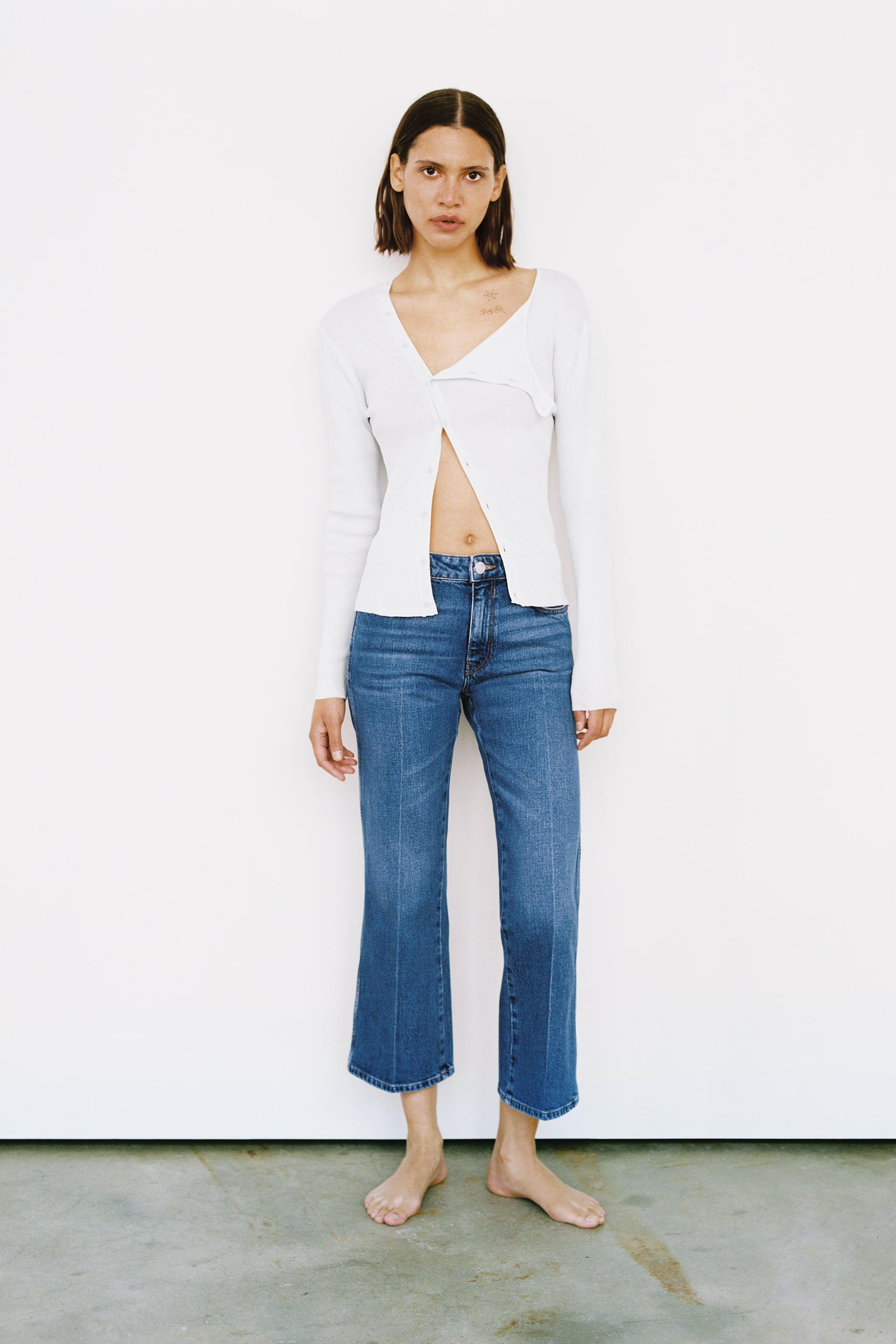ZW THE NESS CROPPED FLARE JEANS 4