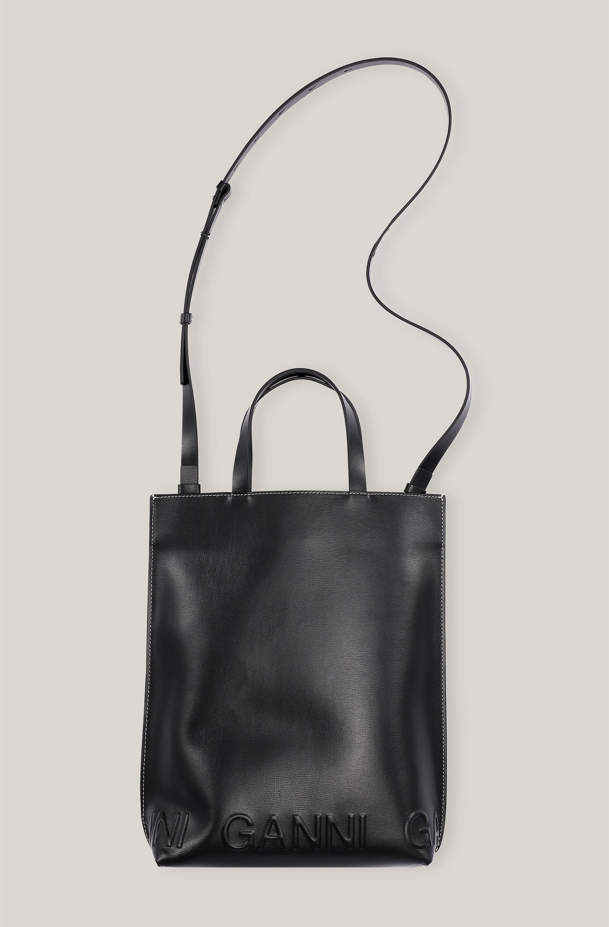 Recycled Leather Medium Tote