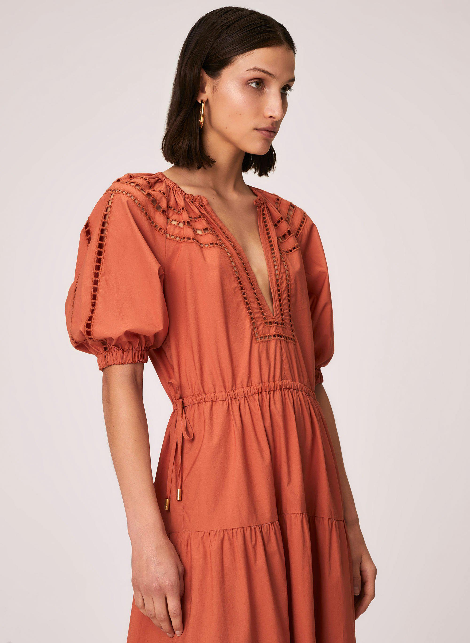 Maryn Embroidered Cotton Dress