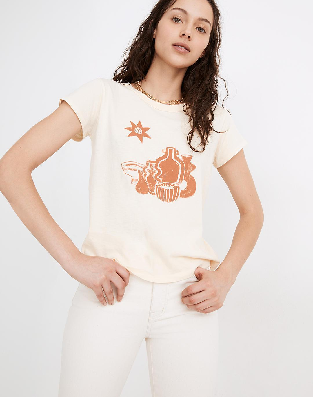Madewell x Élan Byrd Vessel Graphic Perfect Vintage Tee