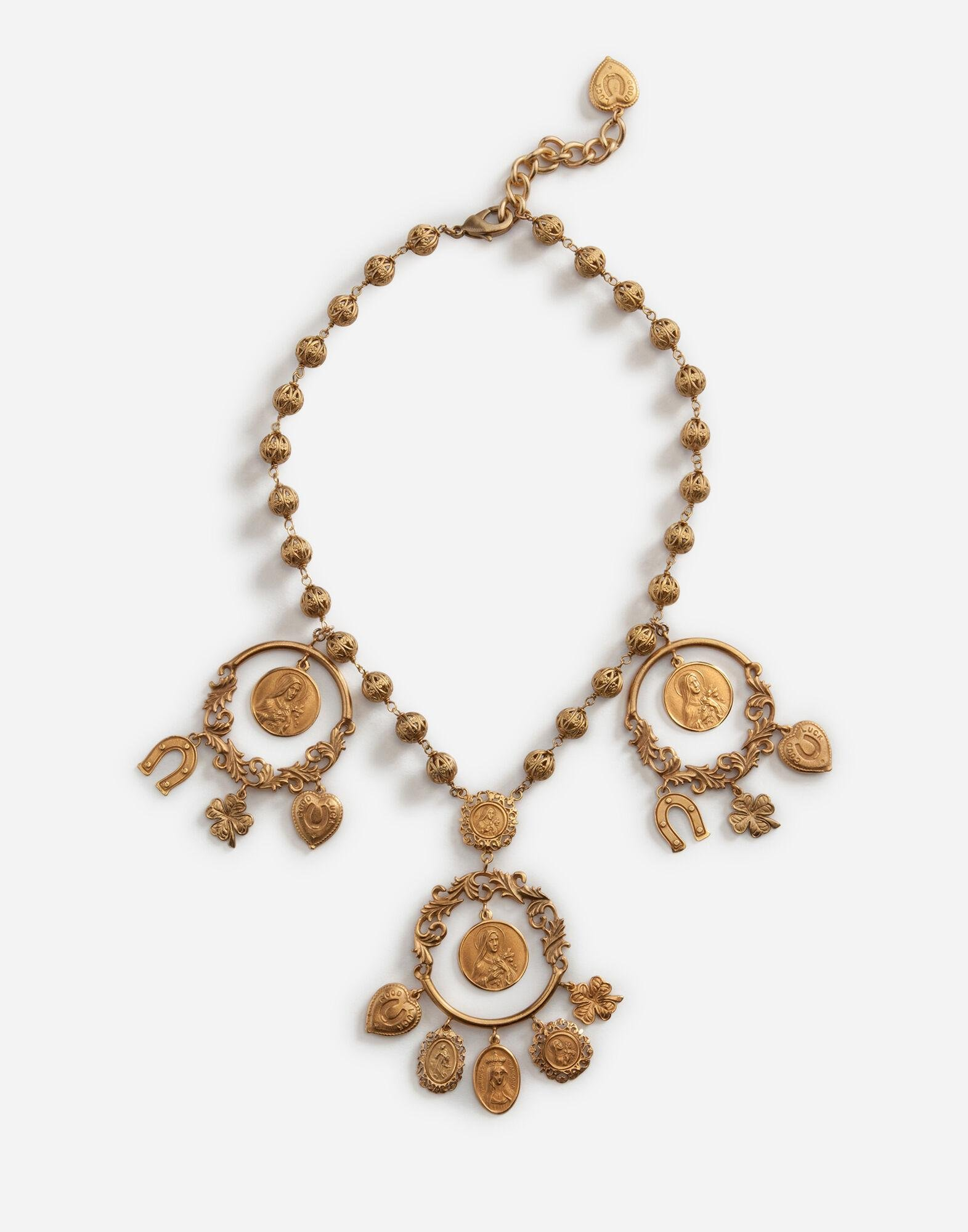 Necklace with decorative details