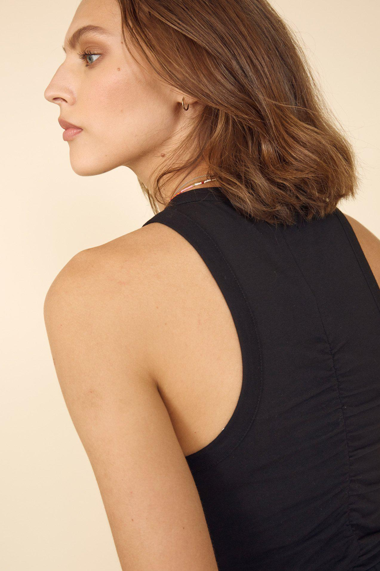The Gather Me Up Tank in Black 2