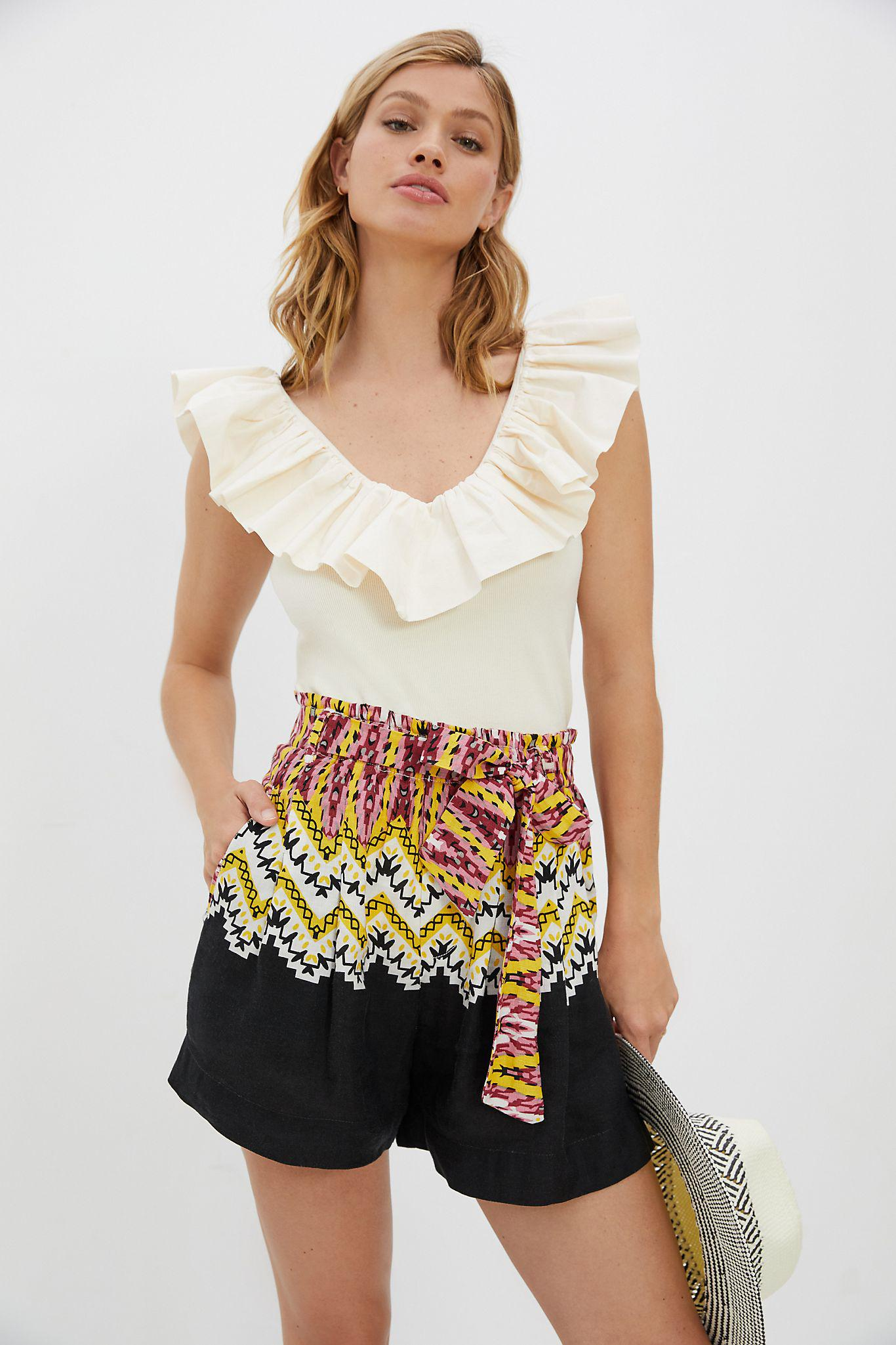 Belted Shorts