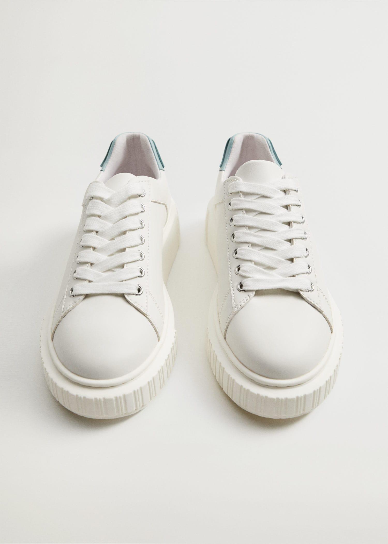Platform lace-up sneakers 4