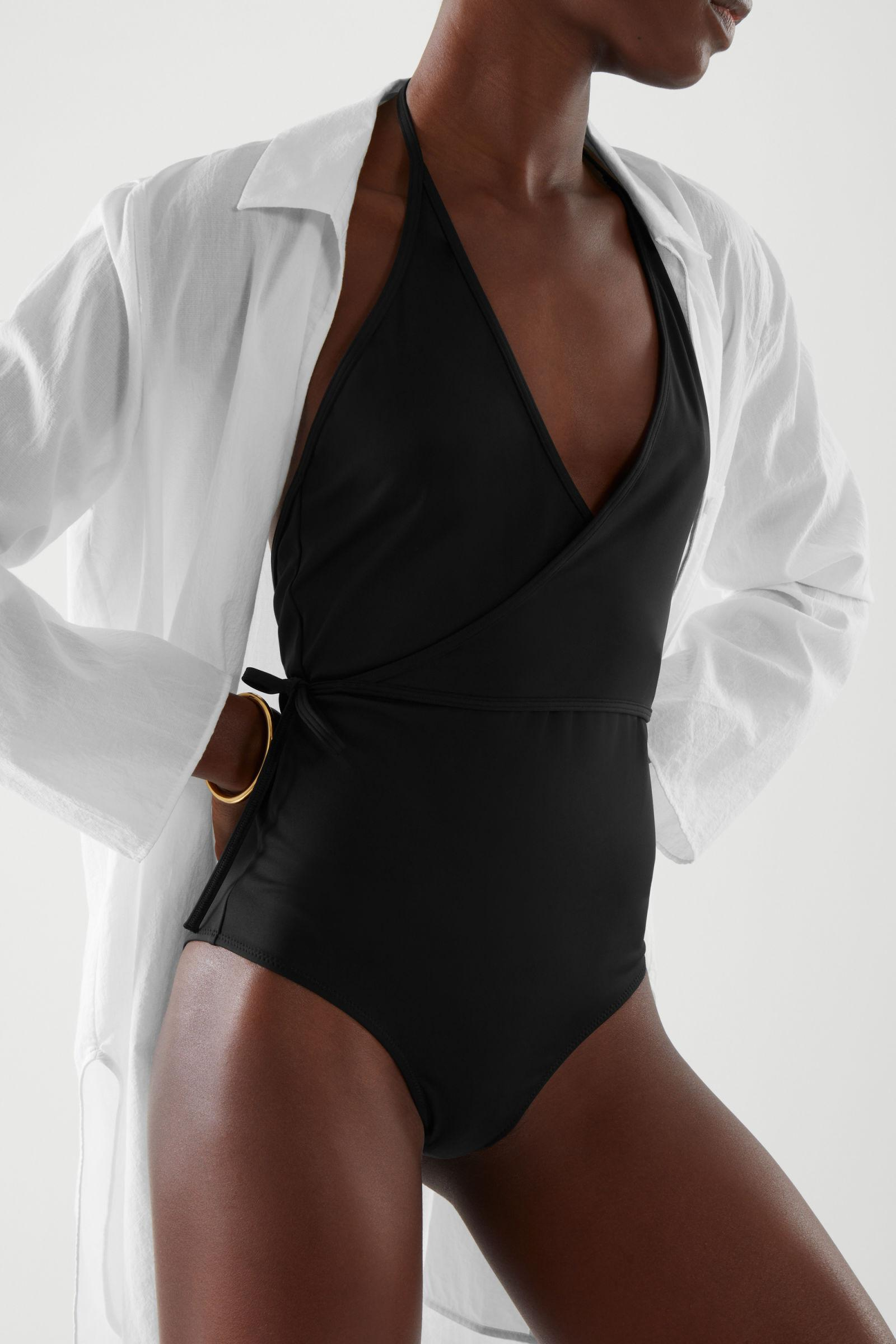 WRAP-OVER SWIMSUIT
