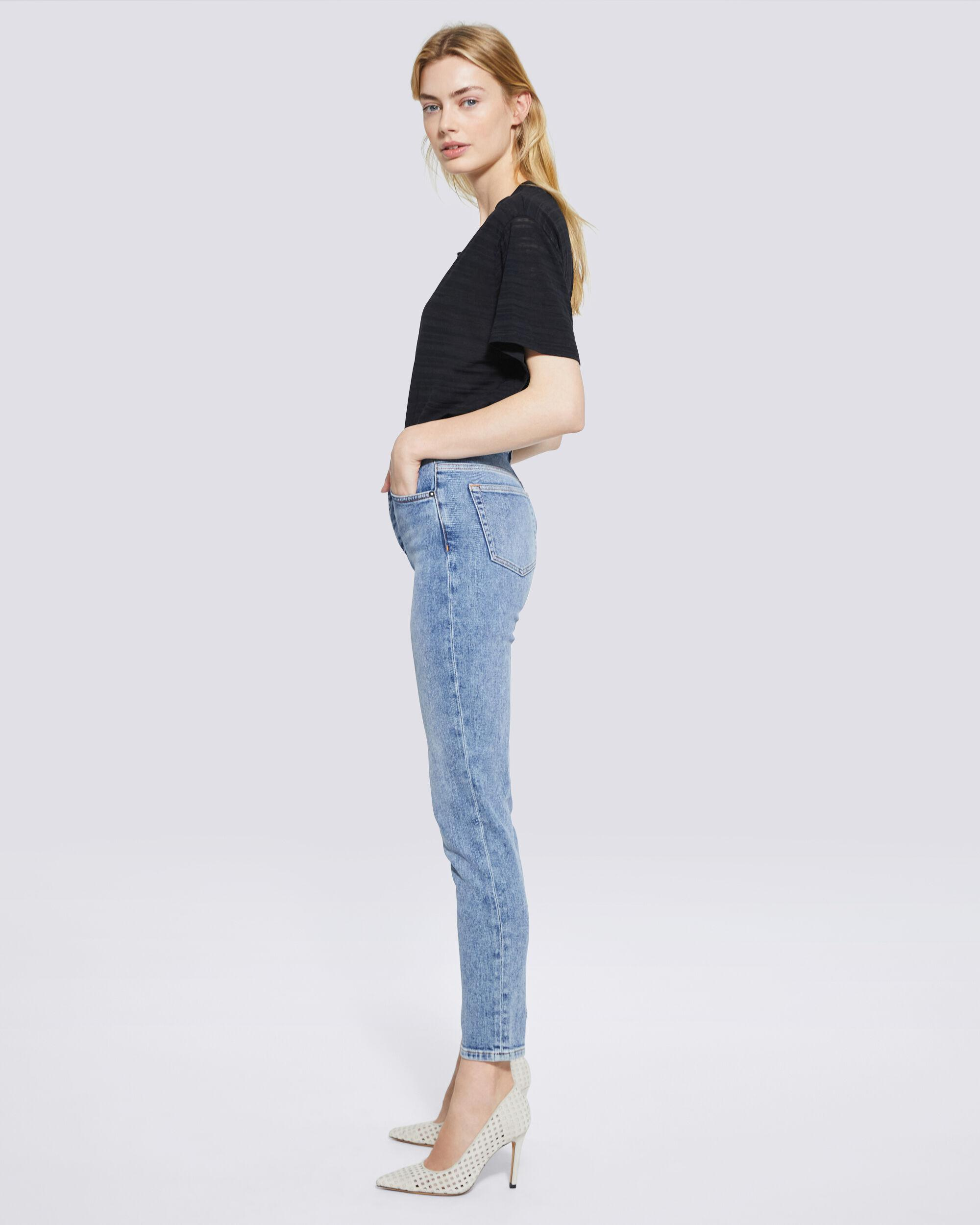 GALLOWAY MID RISE SKINNY ANKLE JEANS 1