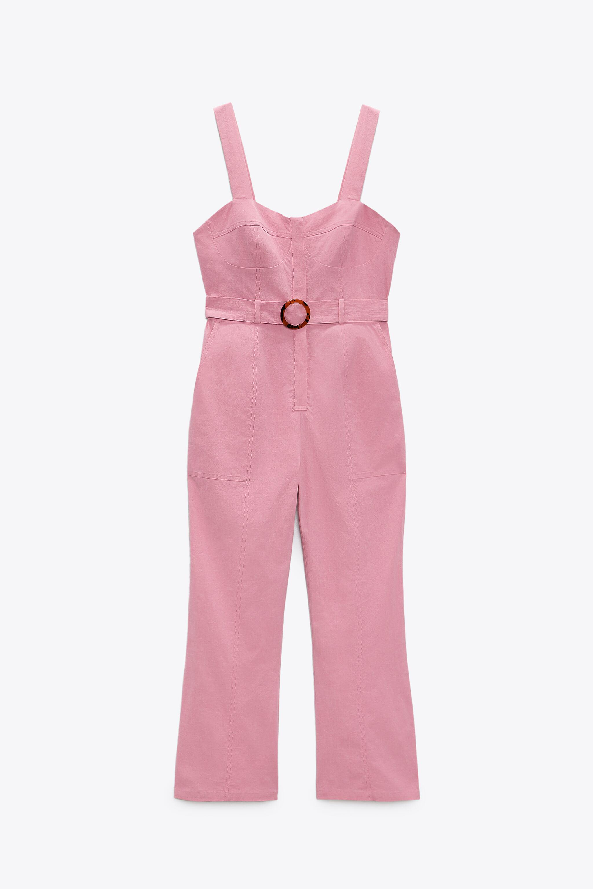 FITTED JUMPSUIT WITH BELT 3