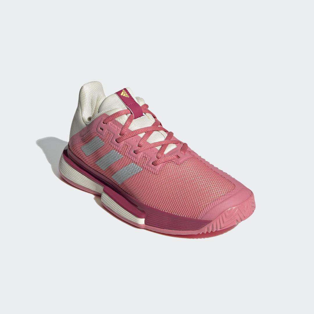 SoleMatch Bounce Tennis Shoes Hazy Rose