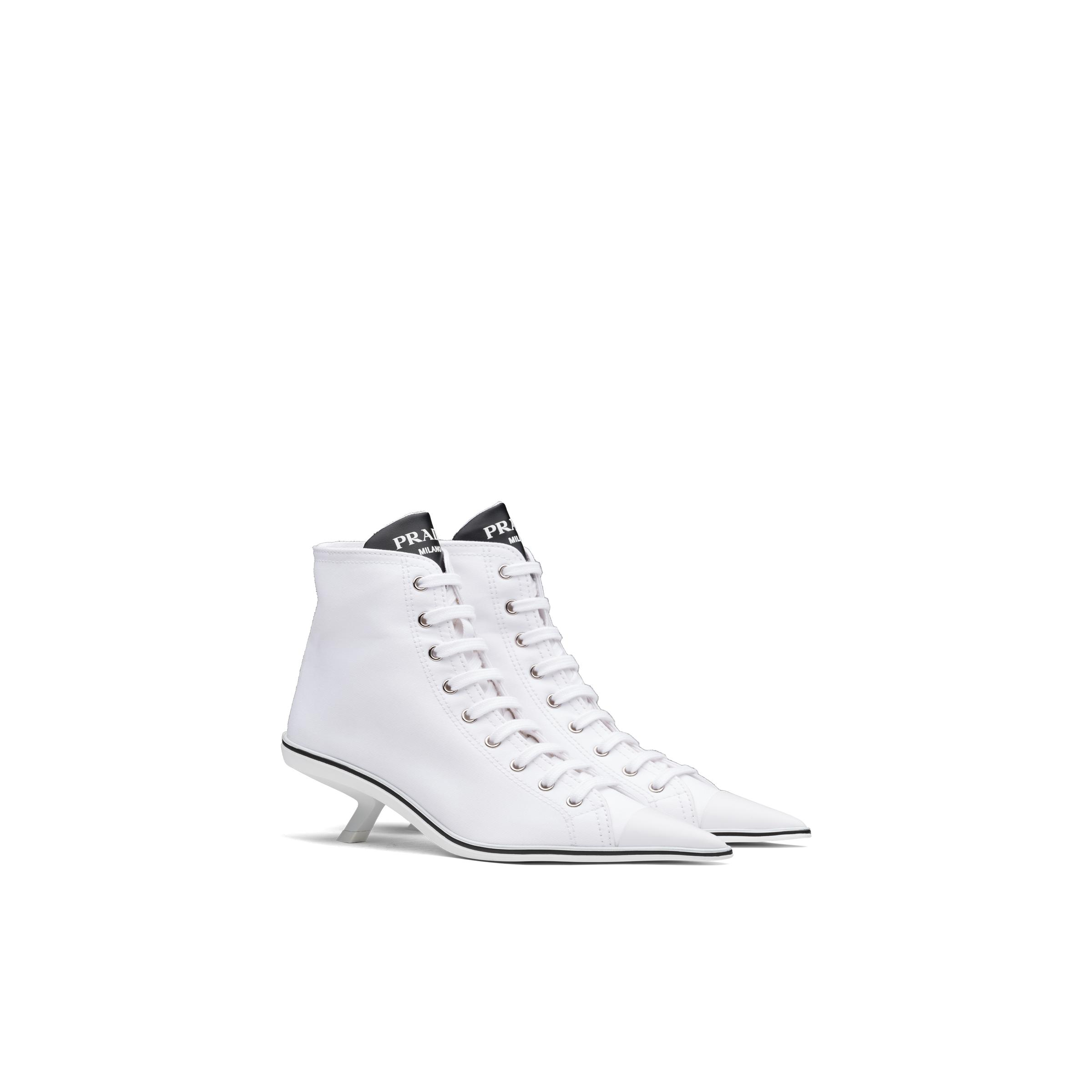 Synthesis Heeled High-top Sneakers Women White