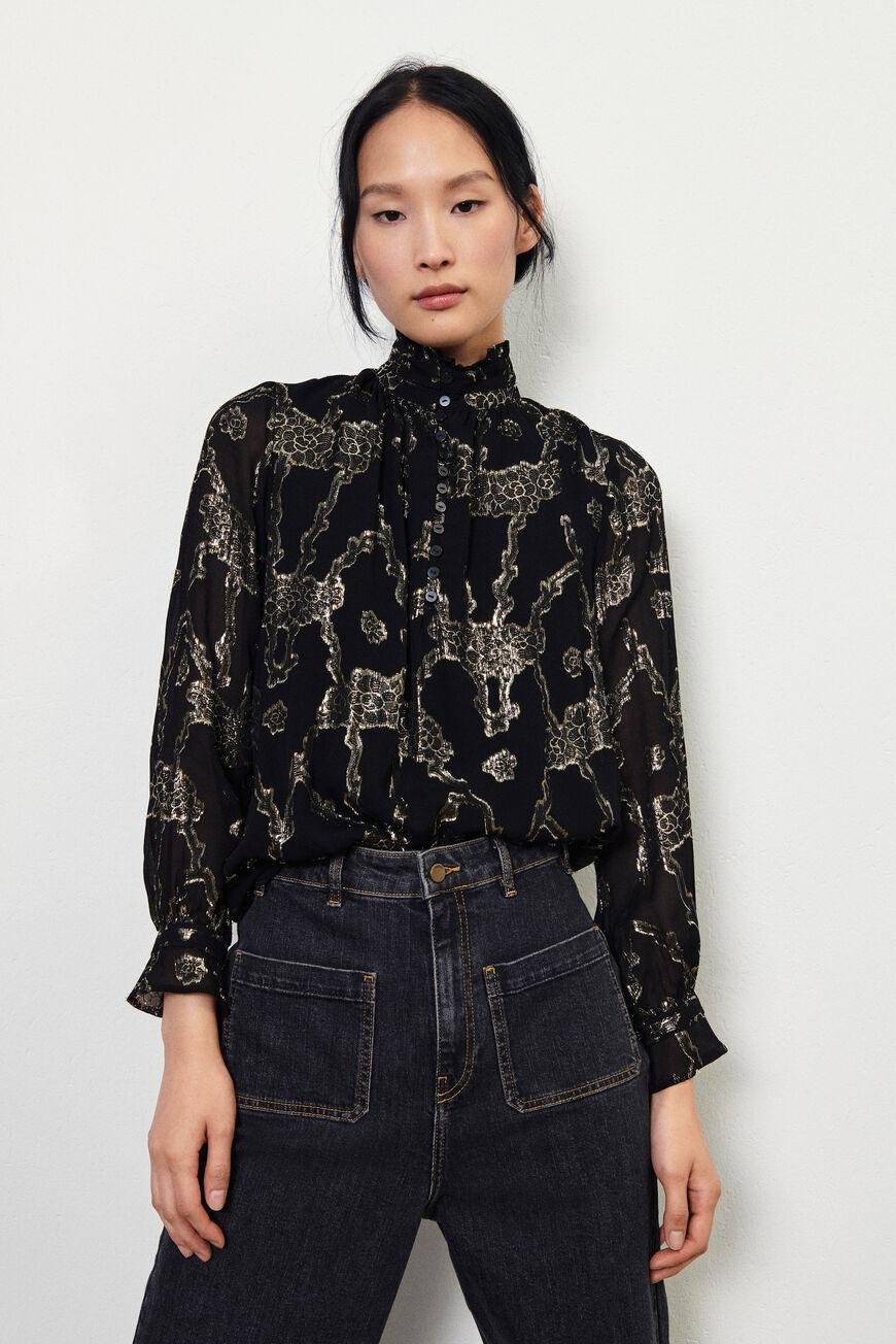 droo.LOOSE BLOUSE