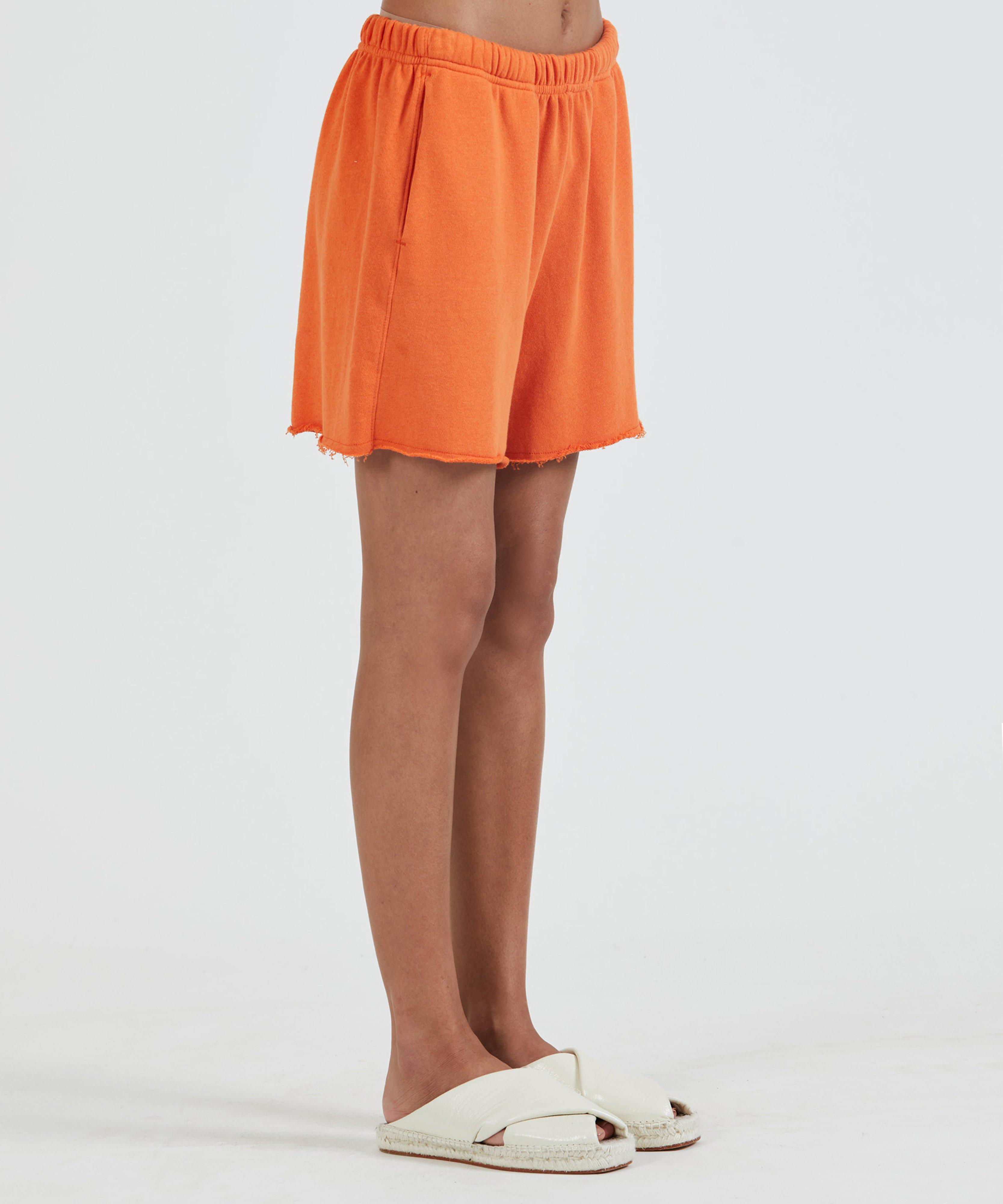 French Terry Pull-On Short - Clementine 1