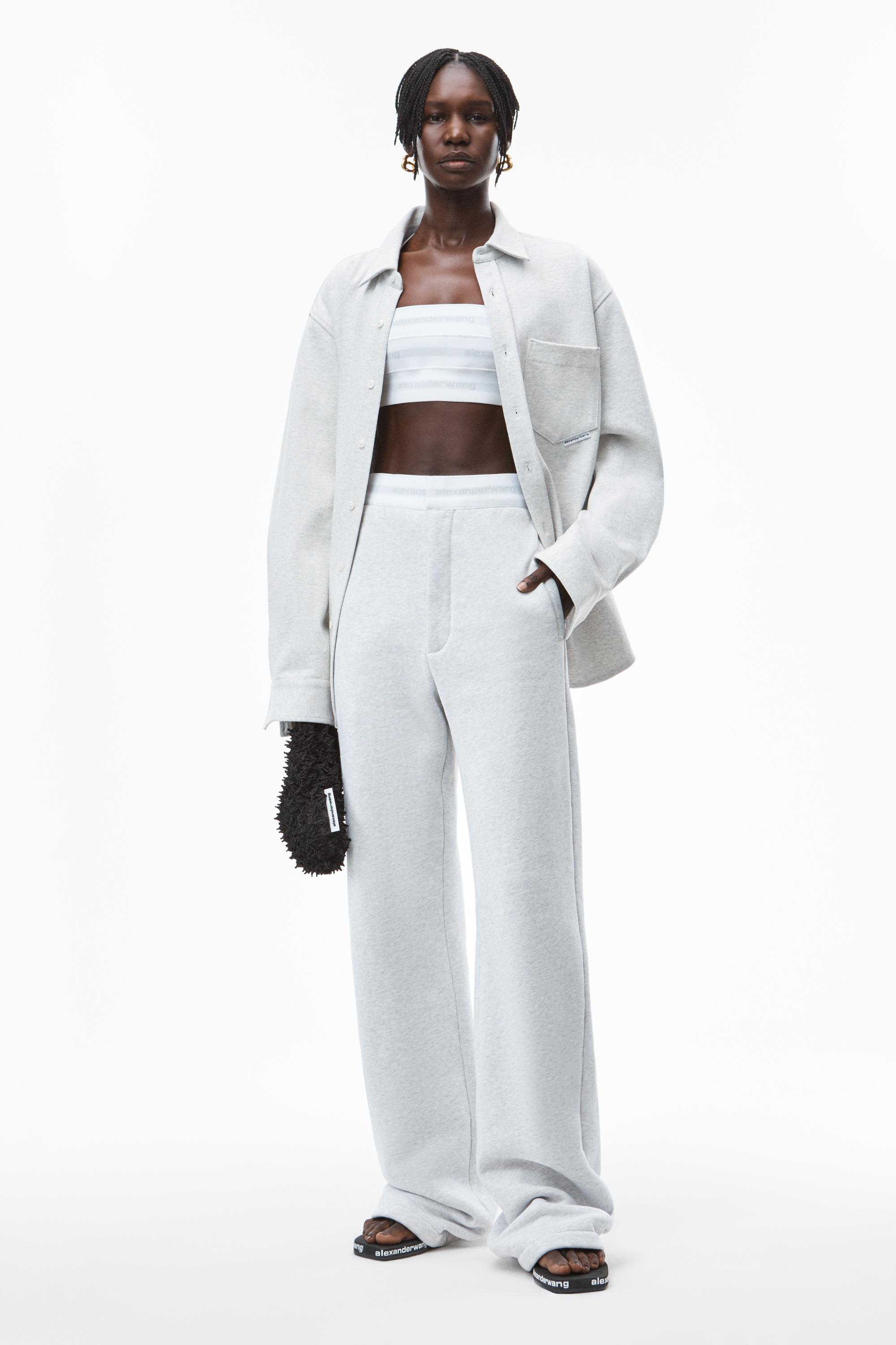 trouser sweatpant in terry