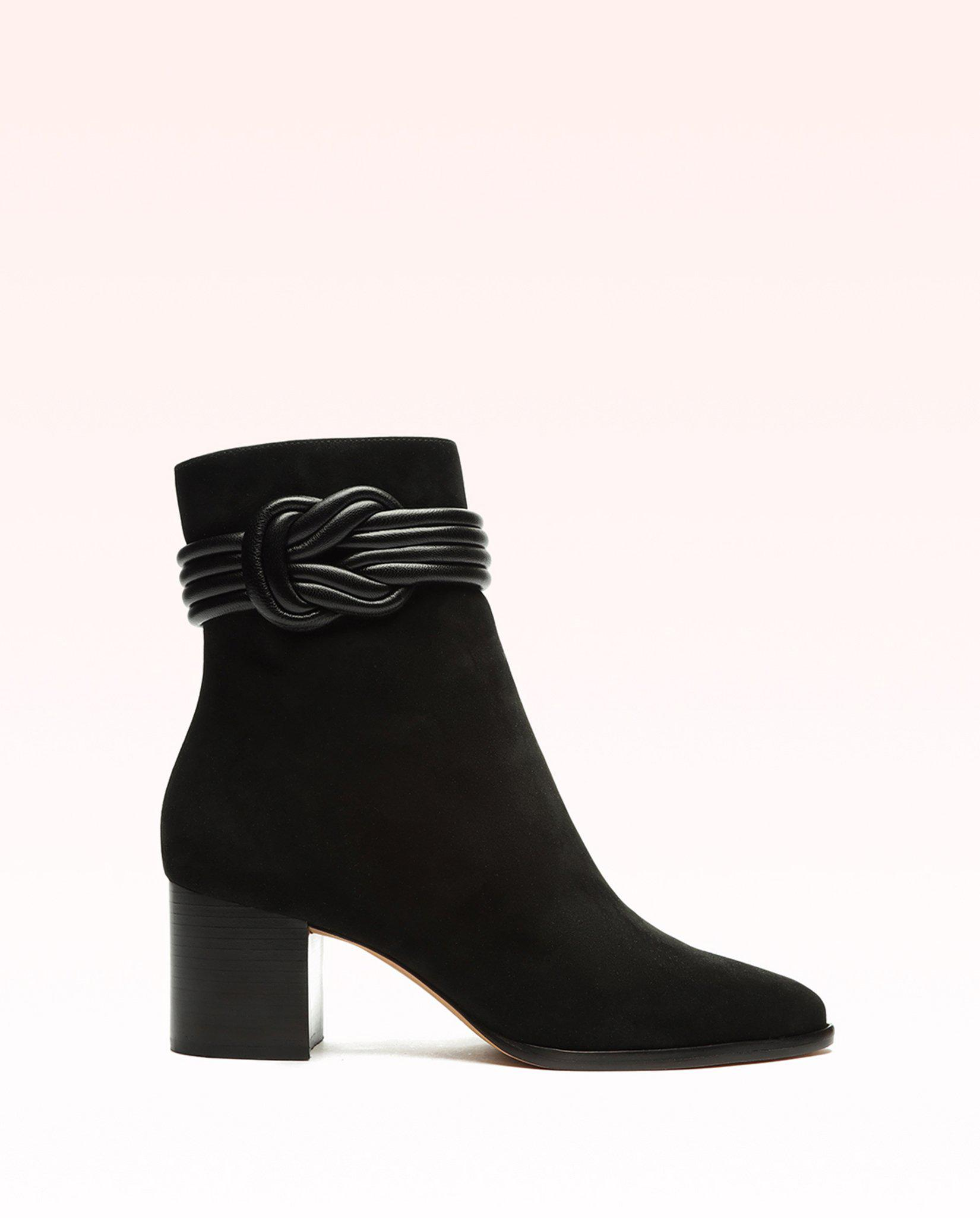 Saddlery Vicky 60 Suede & Nappa Leather Bootie