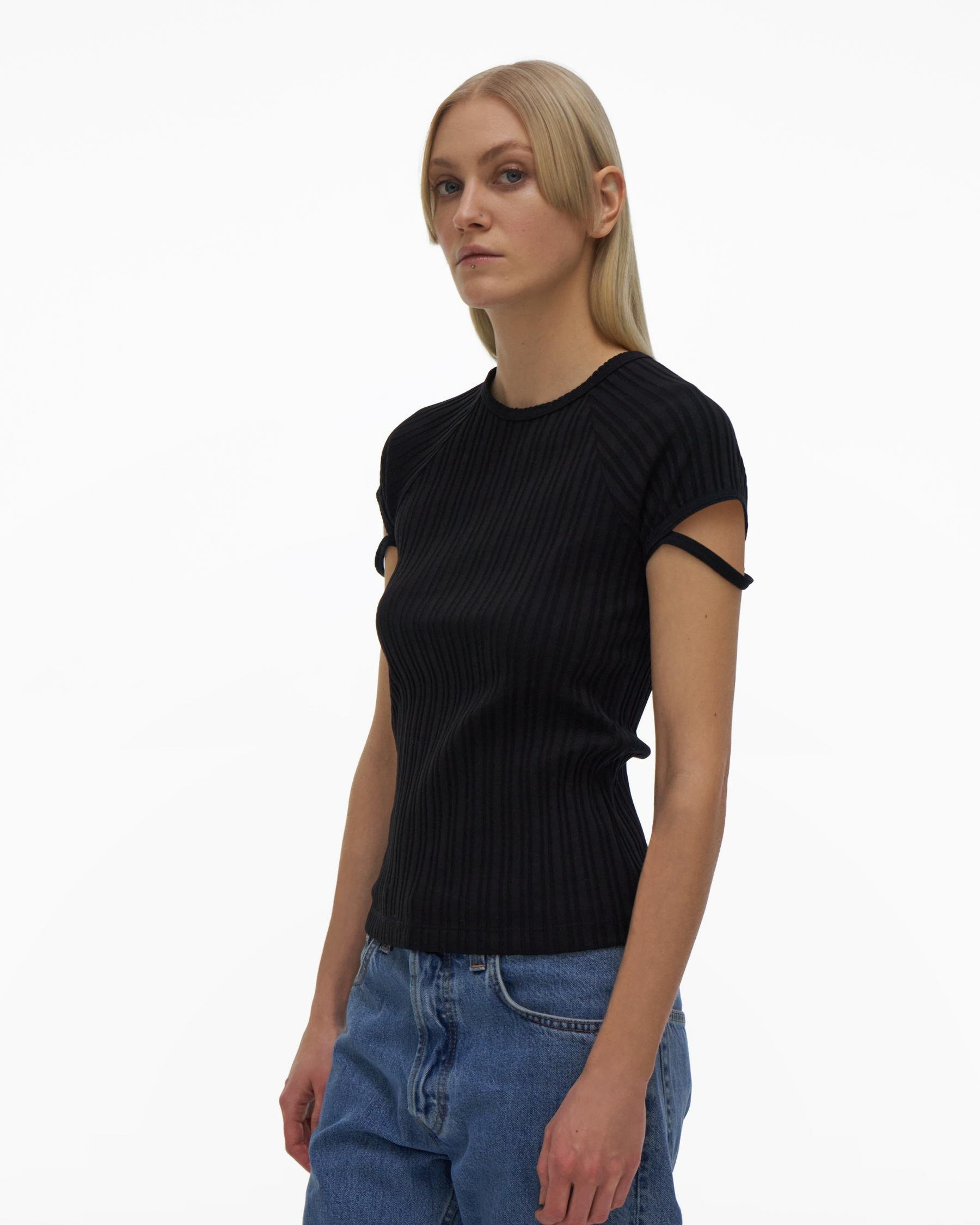 LITTLE RIBBED TEE 3