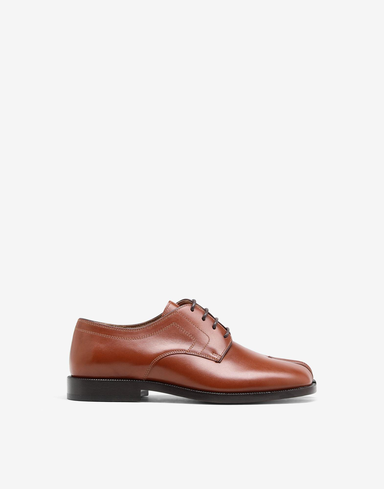 Tabi lace-up shoes
