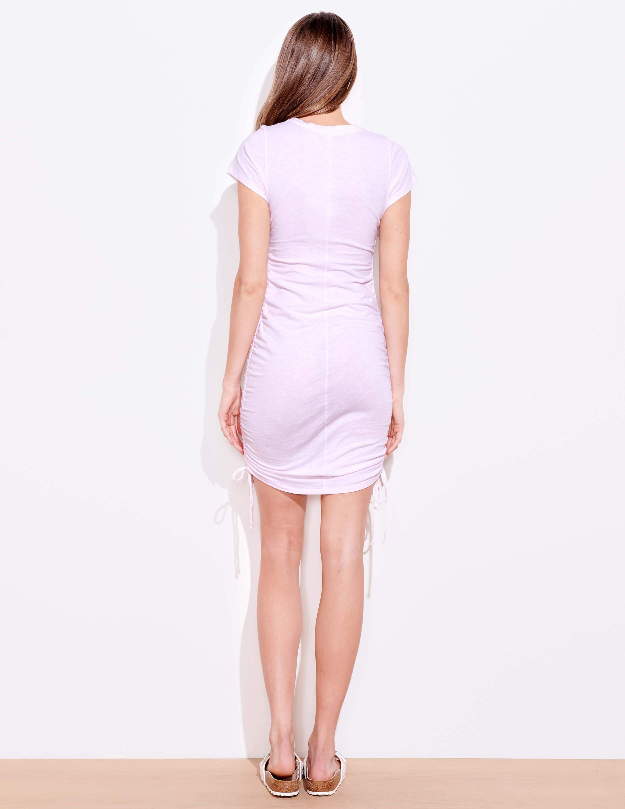 Short Sleeve Cinched Dress 3