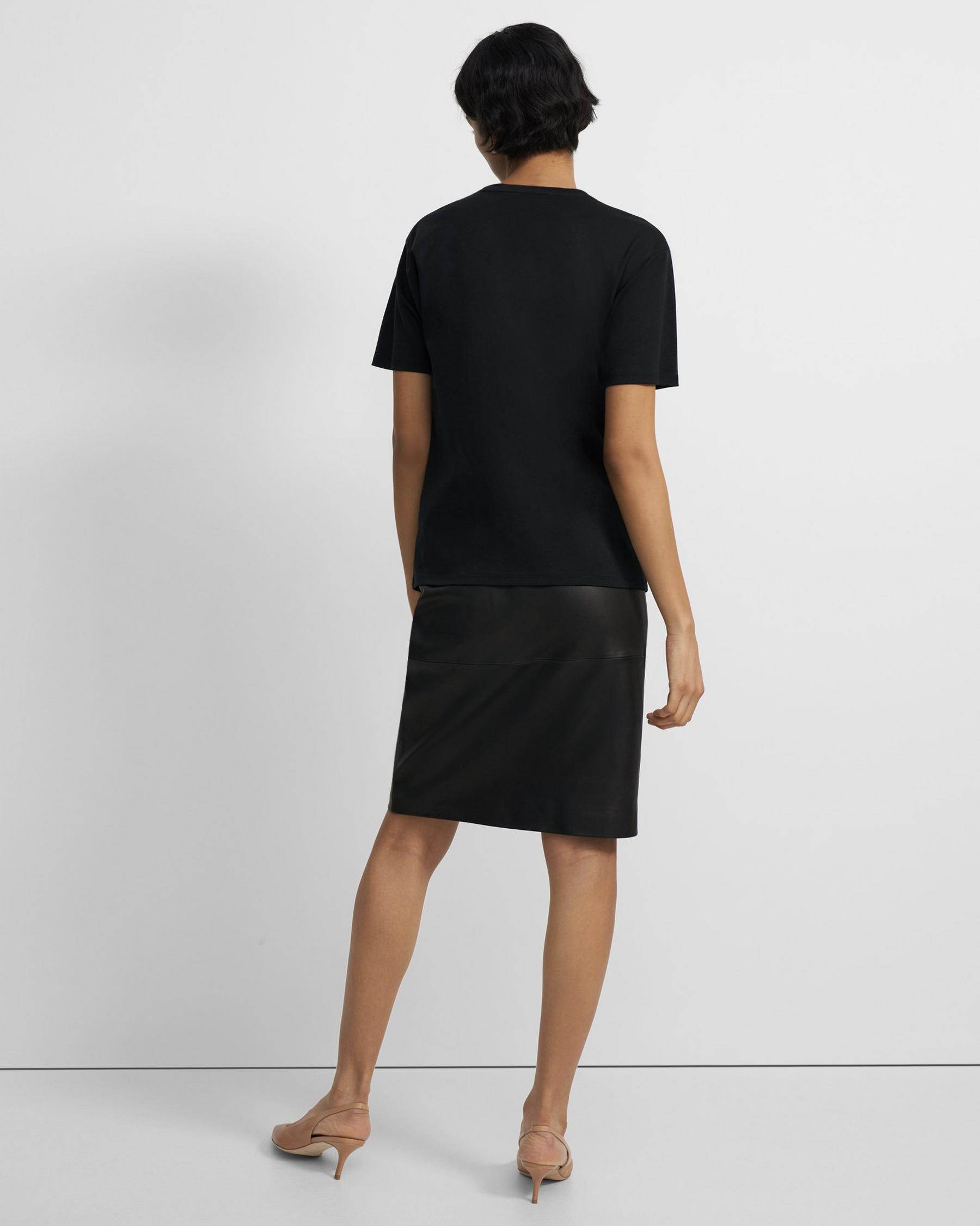 Short-Sleeve Perfect Tee in Cotton Jersey 2