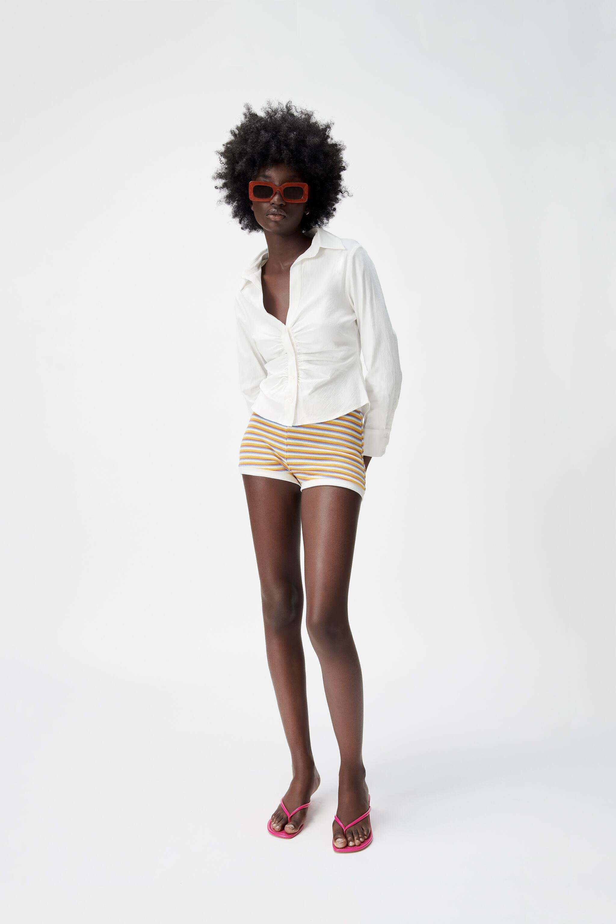 PLEATED TAILORED SHIRT