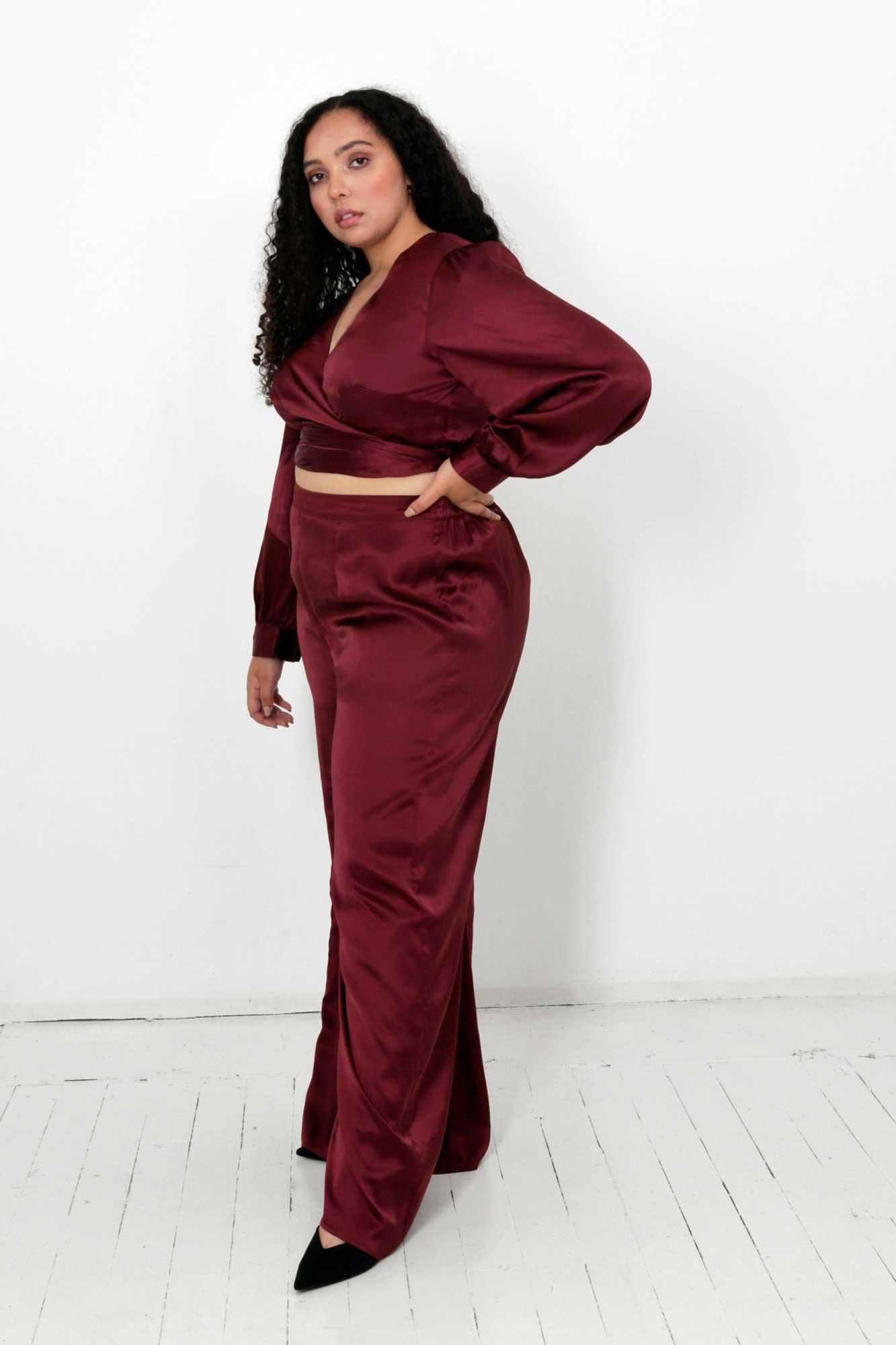 Rooibos Isa Wrap Top and Dora Pants Two Piece Set 2