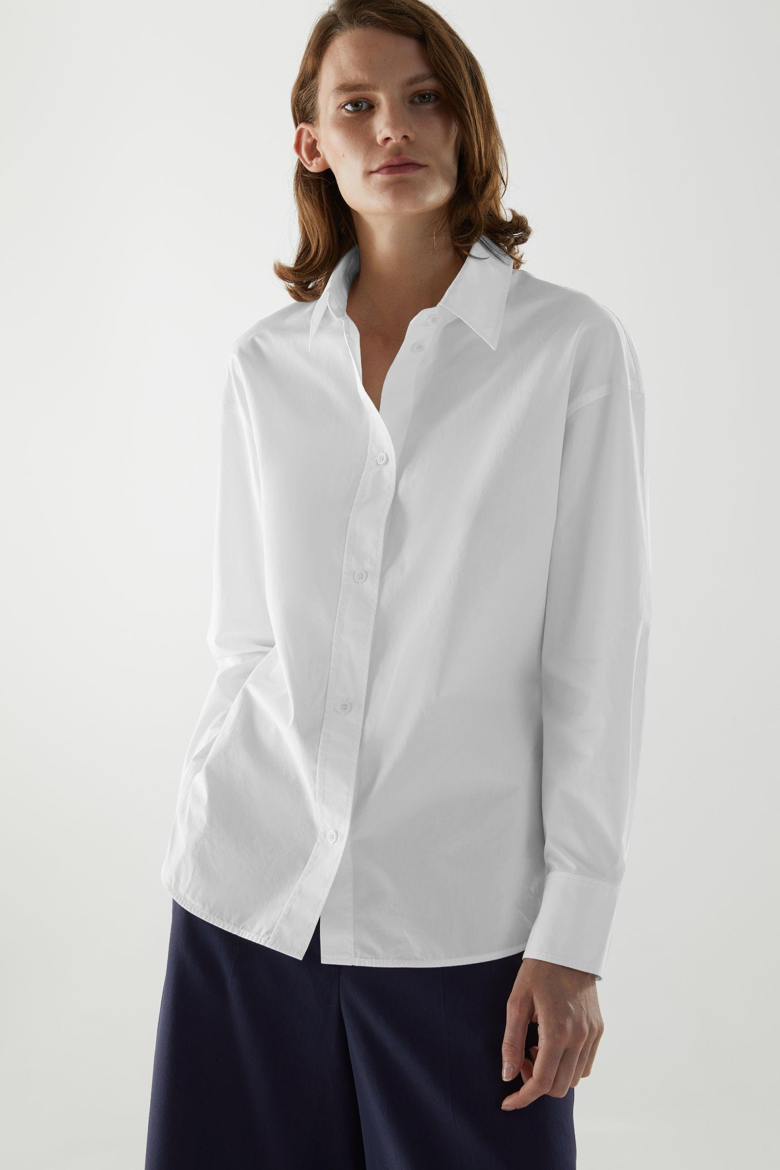 ORGANIC COTTON FITTED SHIRT 0