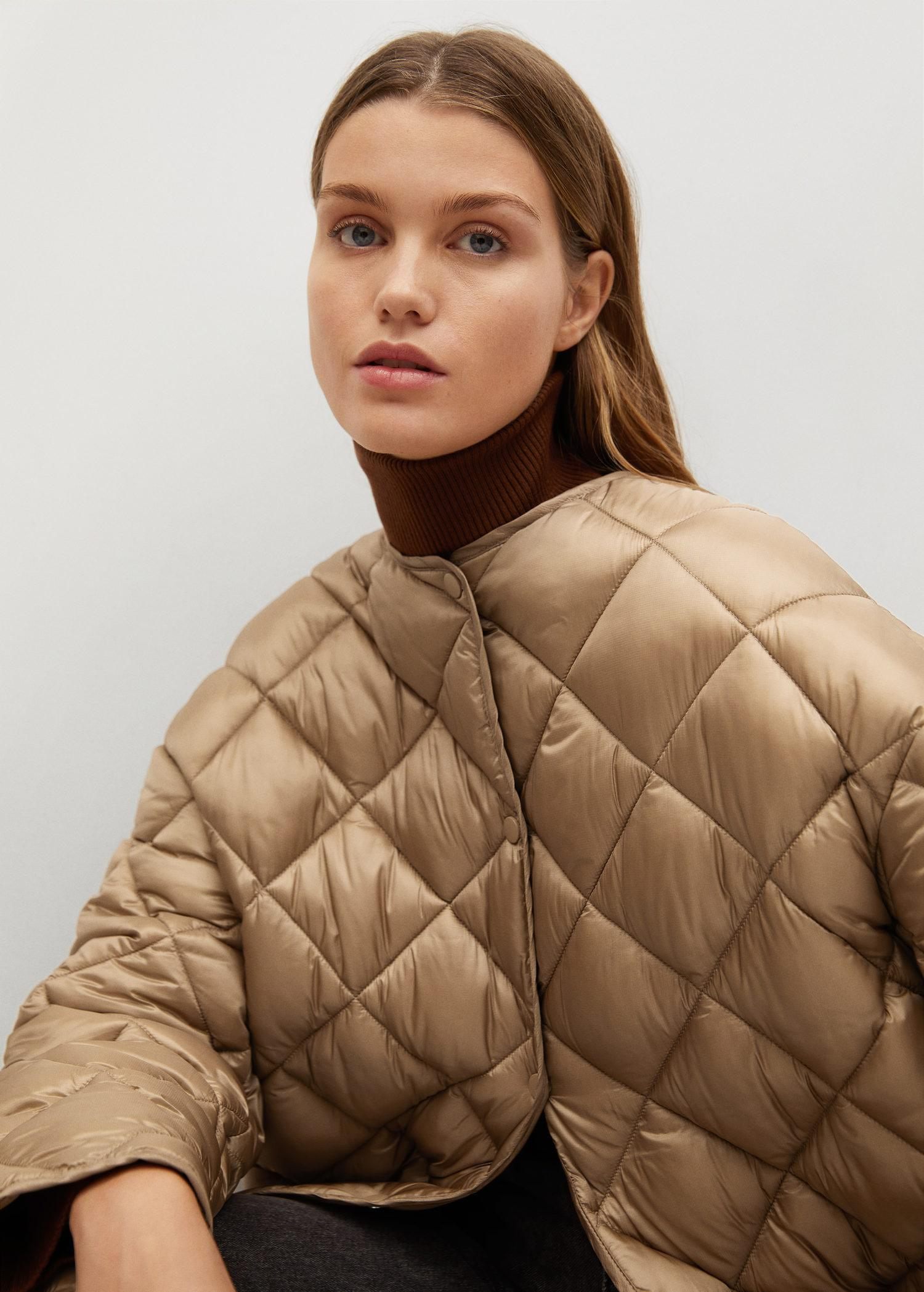 Oversize quilted coat 7