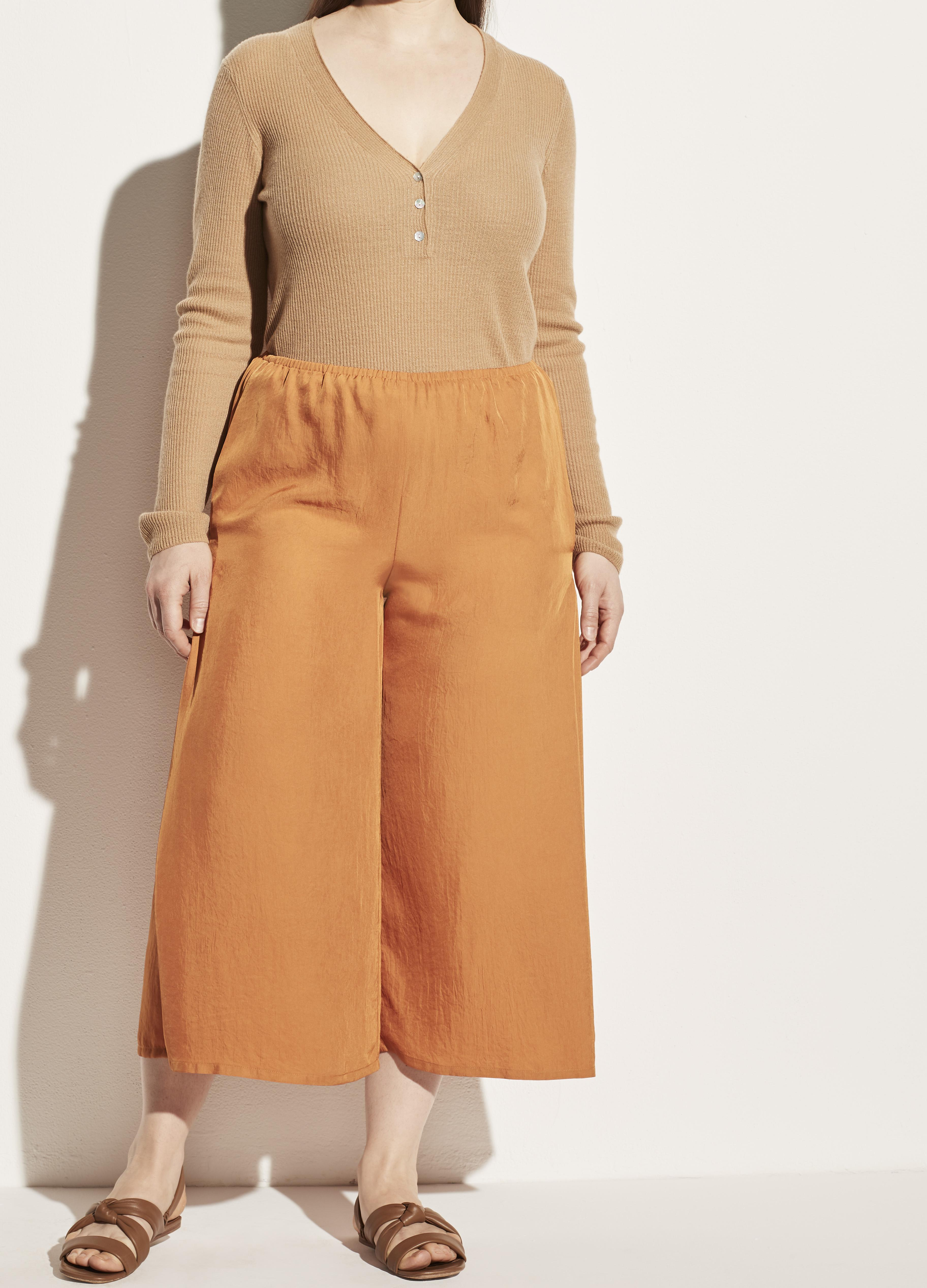 Drapey Pull On Culotte 1