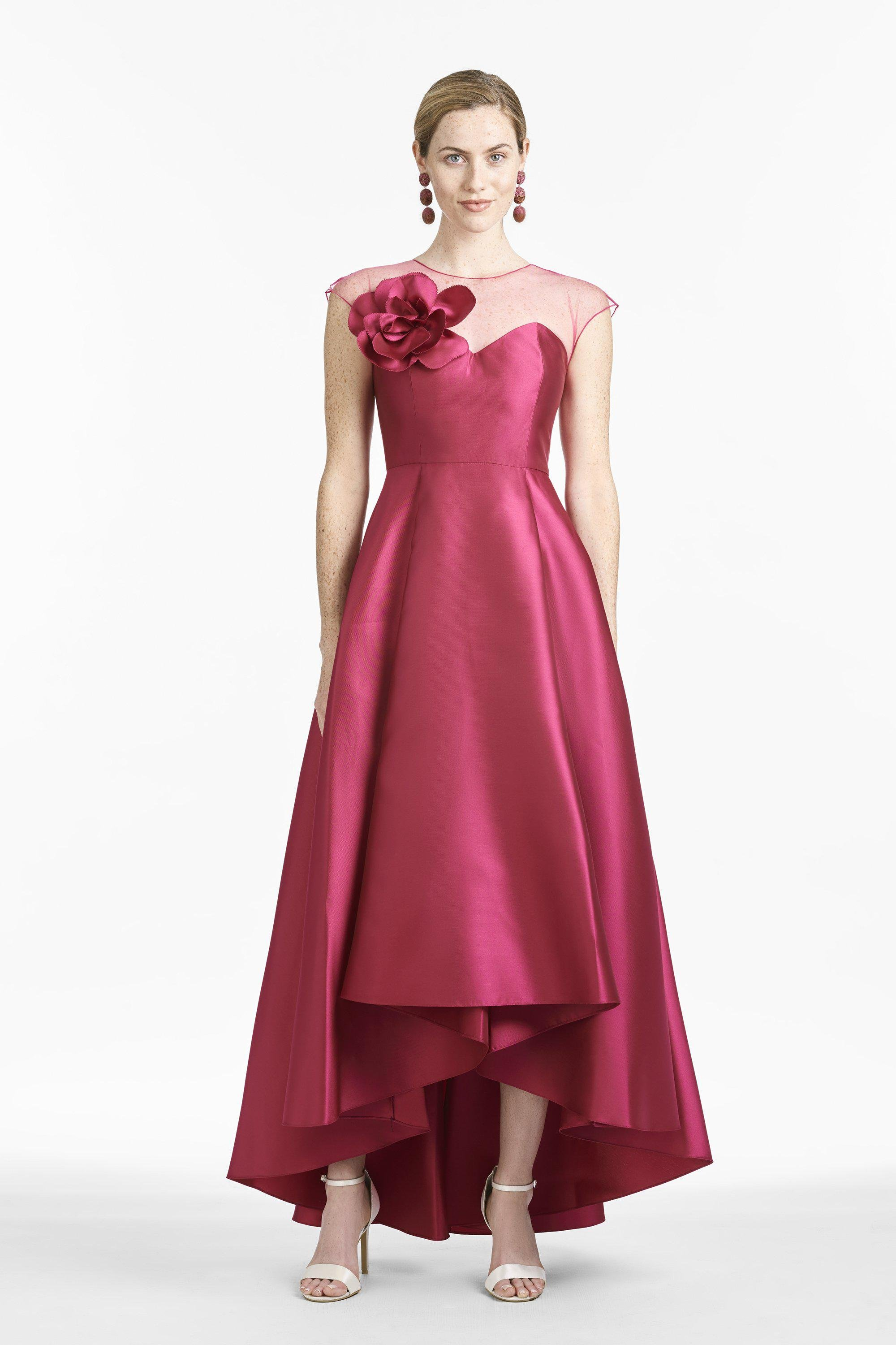 Blakely Gown - Raspberry