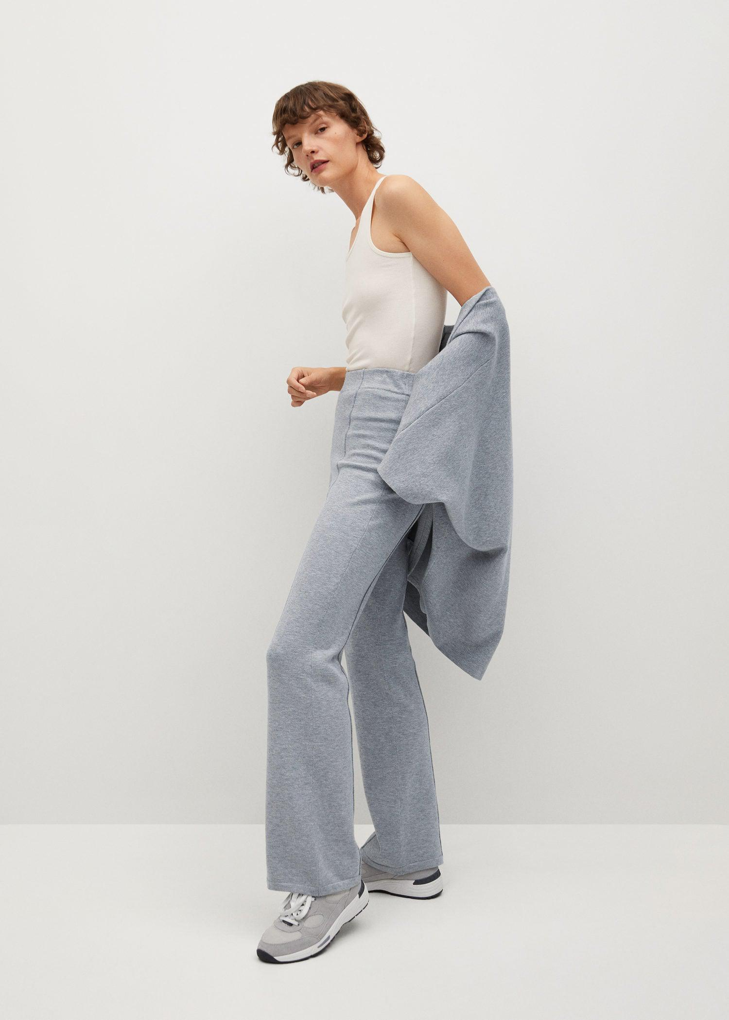 Flared knitted pants 4