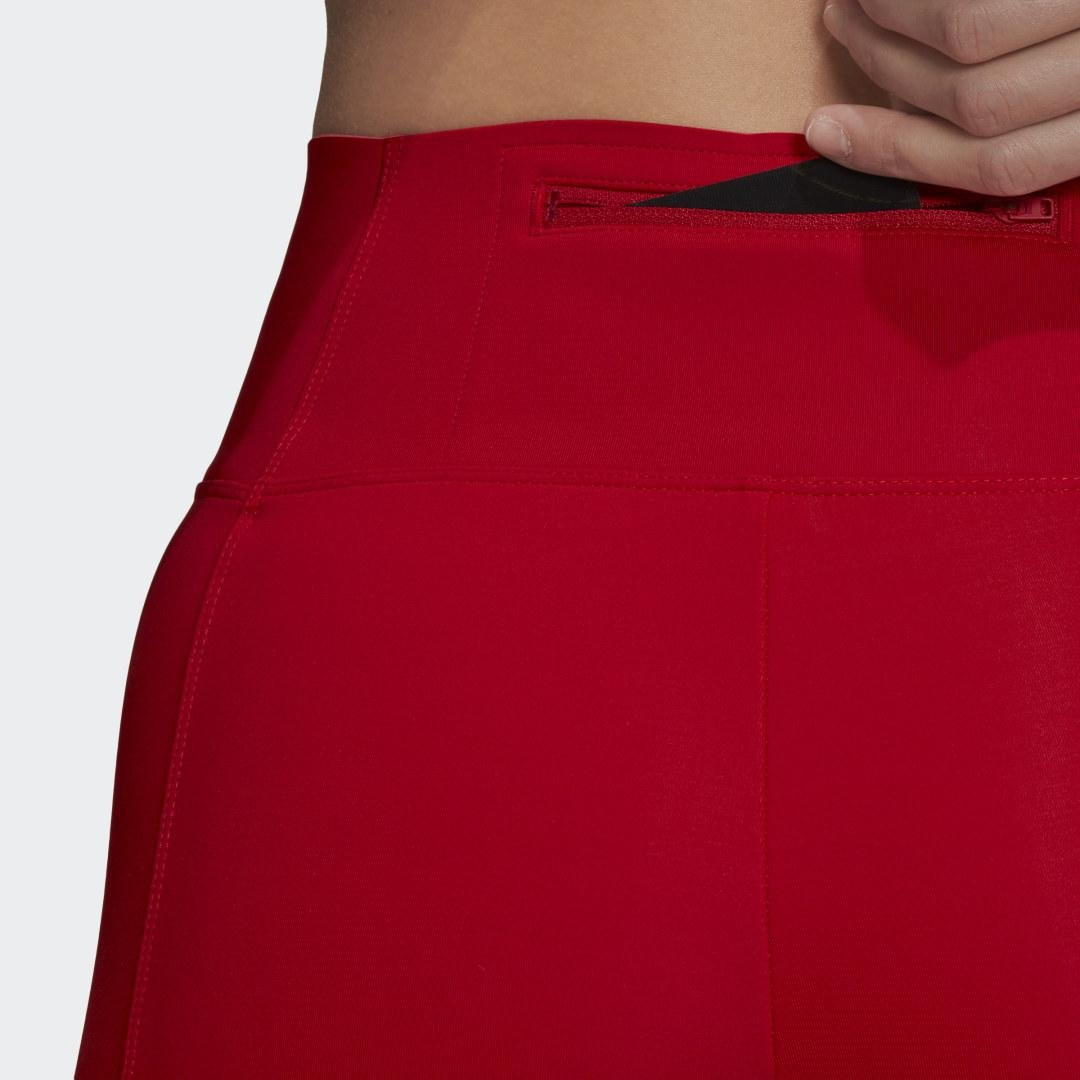 Y-3 Classic Tights Red 3