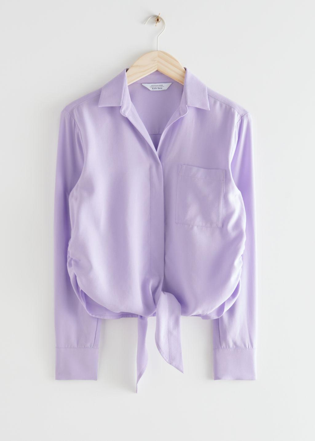Relaxed Front Tie Top