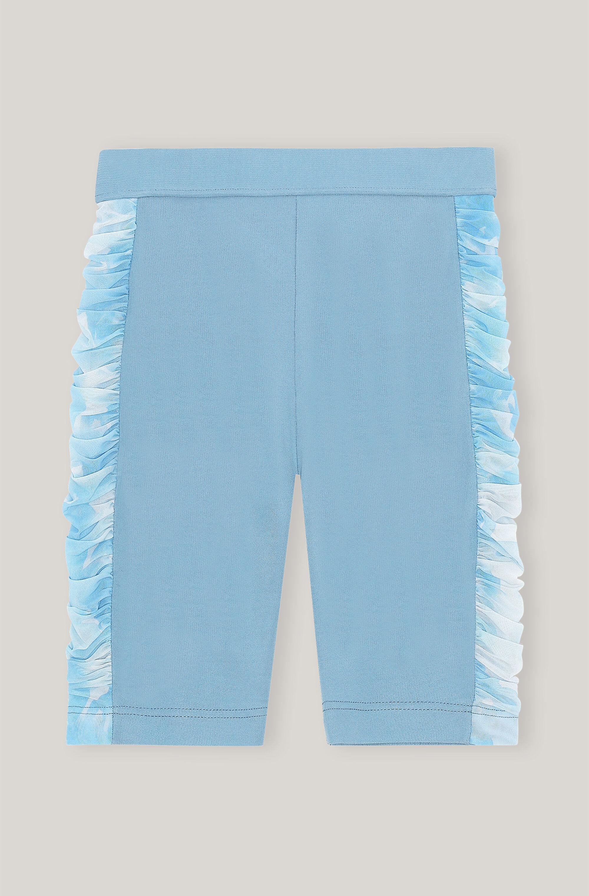 Ruched Jersey Patchwork Shorts 2