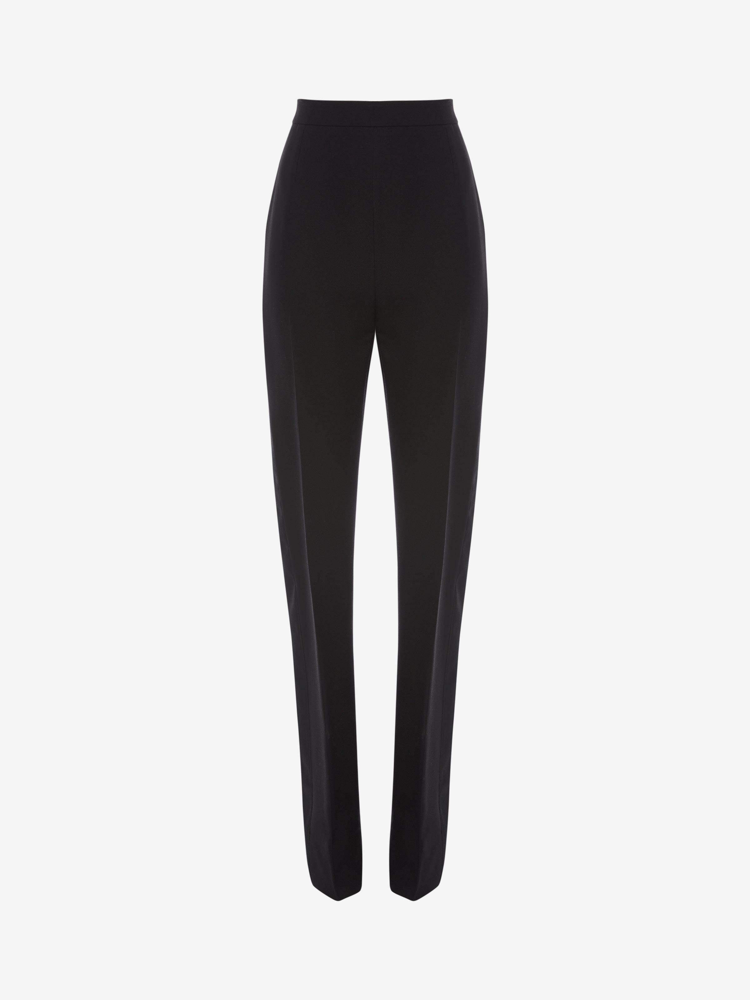 Double Duchesse High Waisted Trouser 3