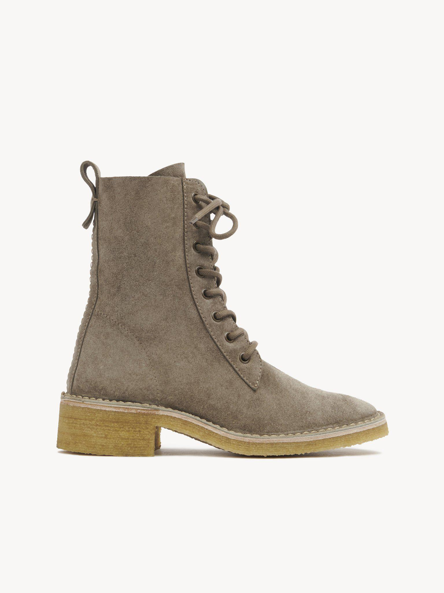 EDITH LACE-UP ANKLE BOOT