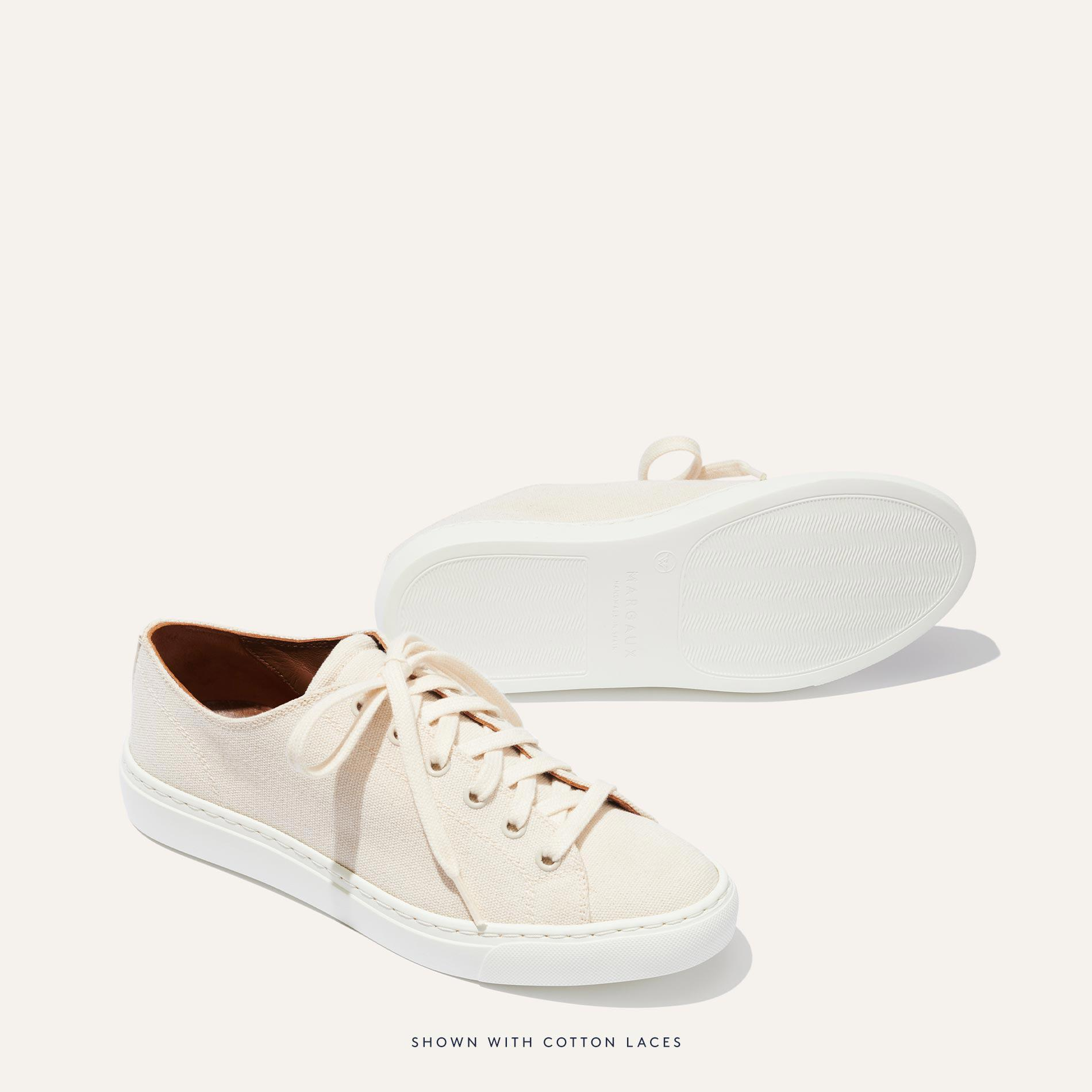 The Summer Sneaker - Ivory Canvas 2