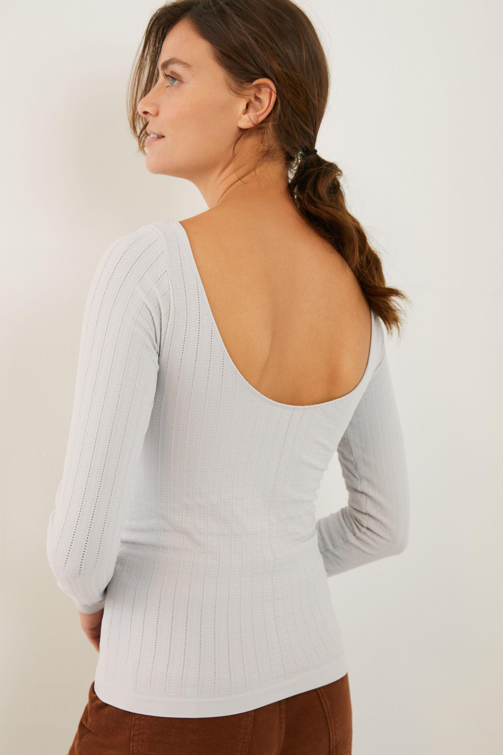Aidy Seamless Scoop-Back Top 2