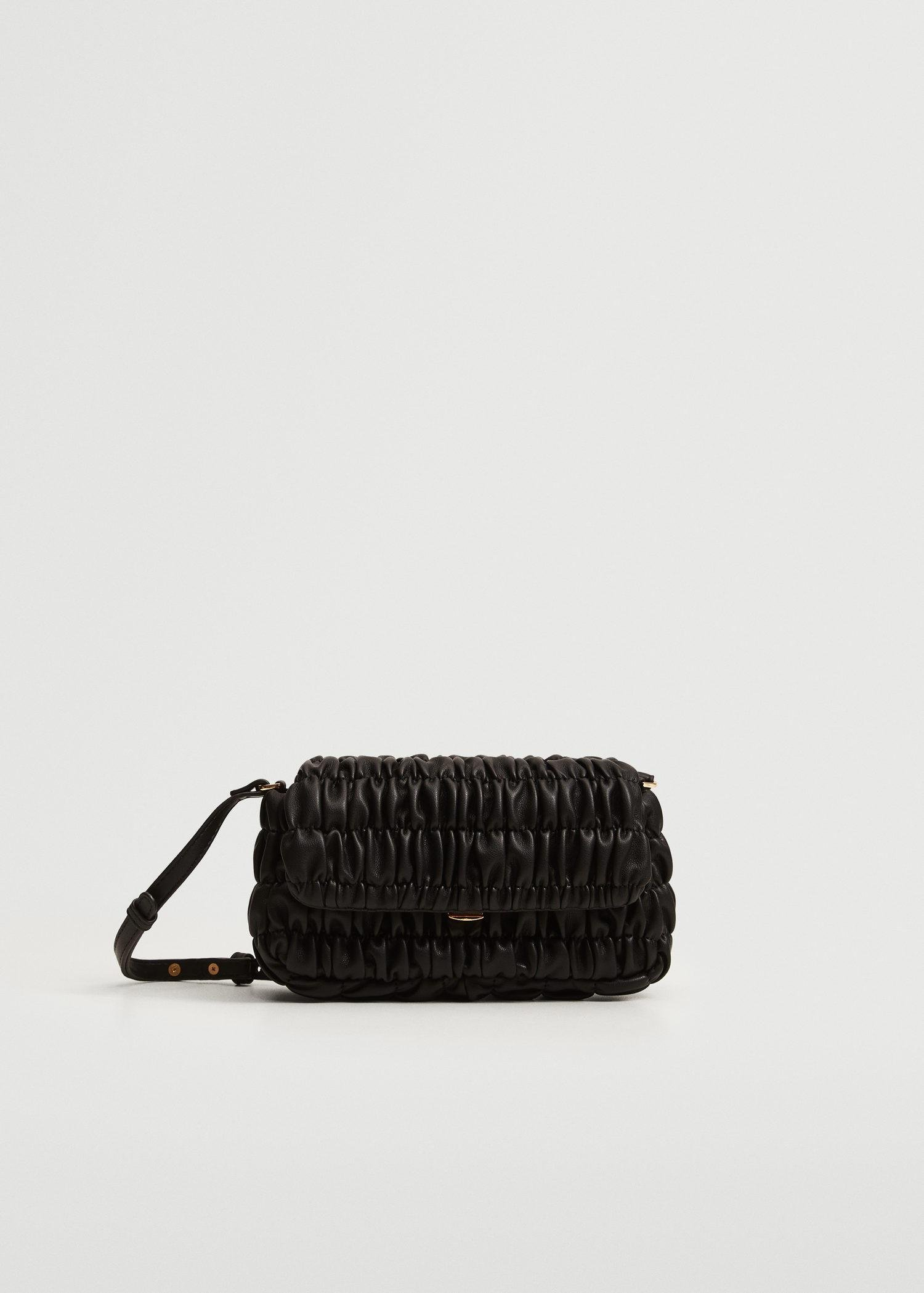 Bag with ruched detail
