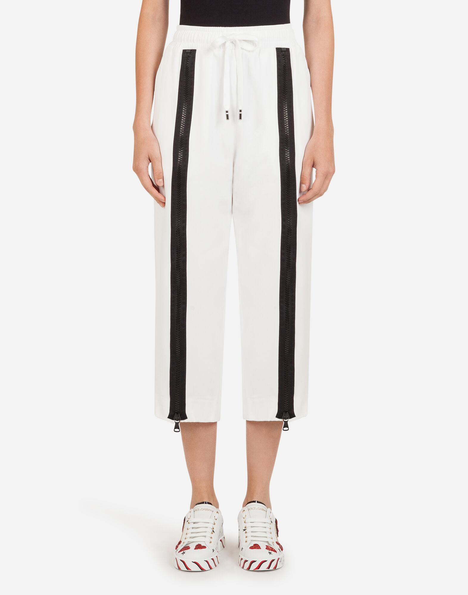 Cady pants with D&G bands and zipper