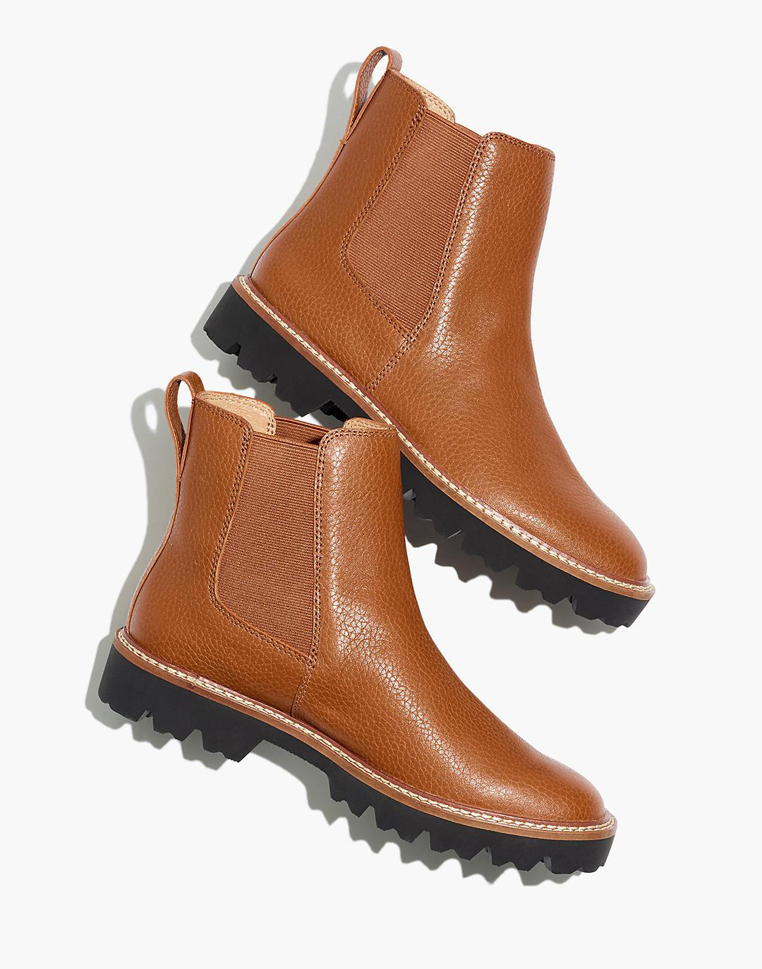 The Citywalk Lugsole Chelsea Boot in Leather