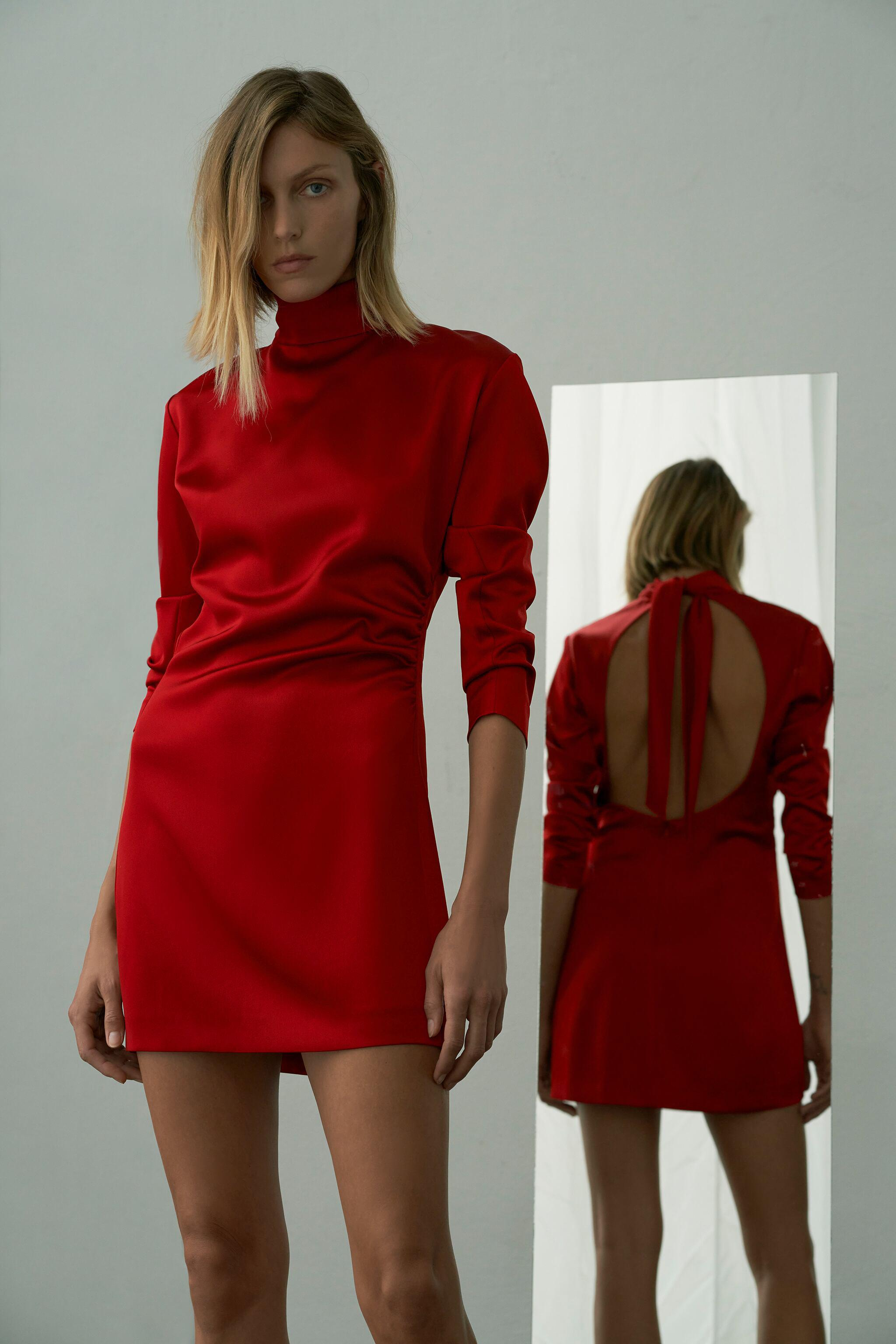 RUCHED MINI DRESS LIMITED EDITION 0