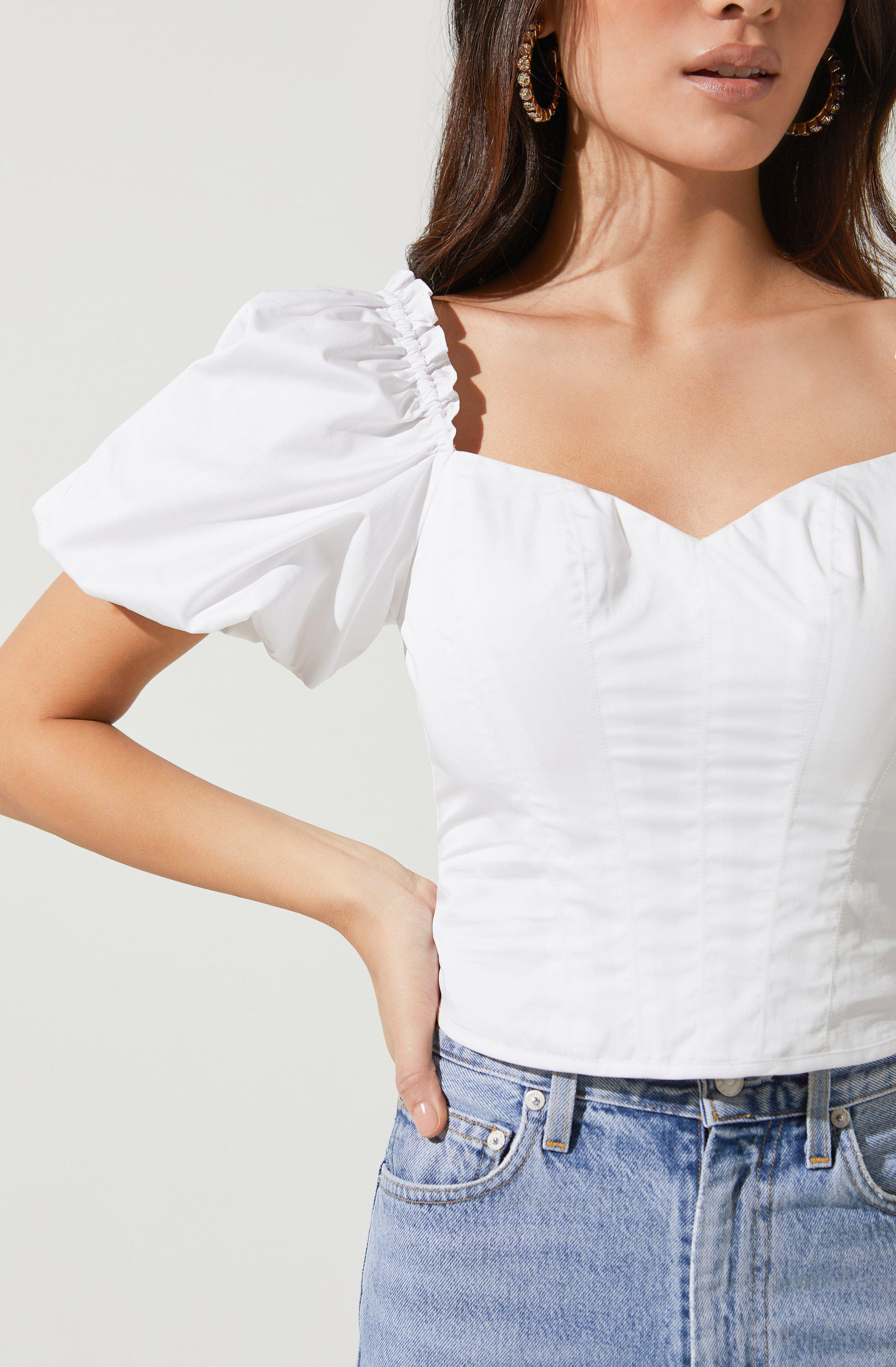 Gilmore Puff Sleeve Top 2