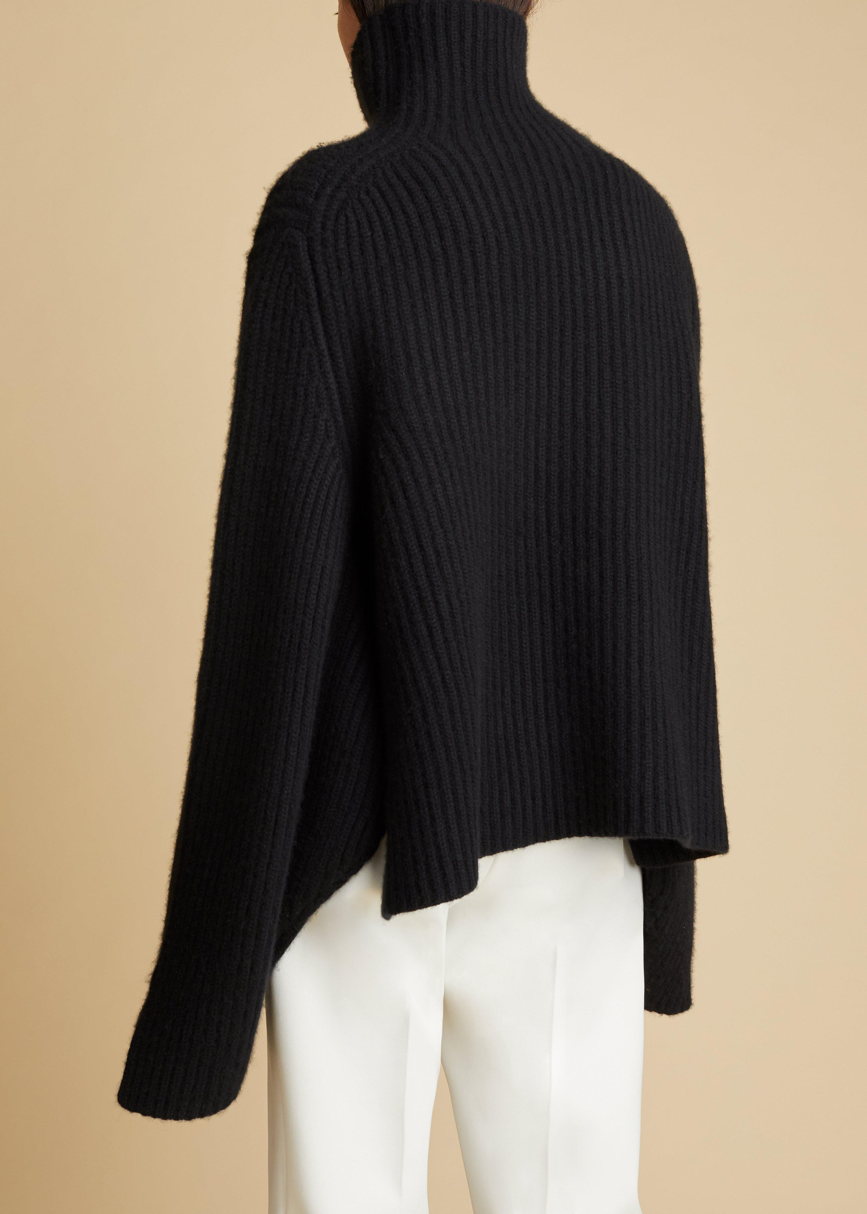 The Molly Sweater in Black 4