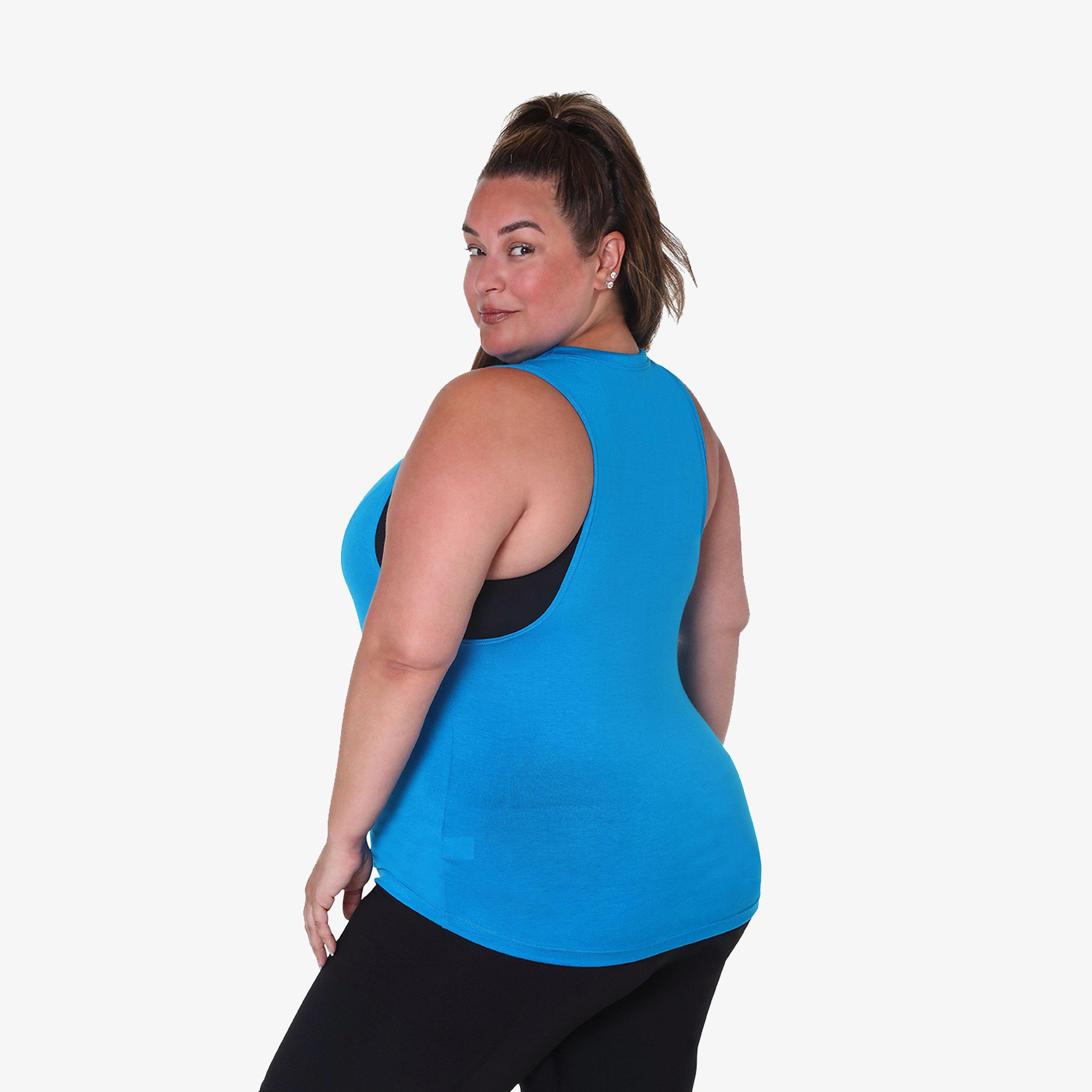 Muscle Tank - Turquoise 1