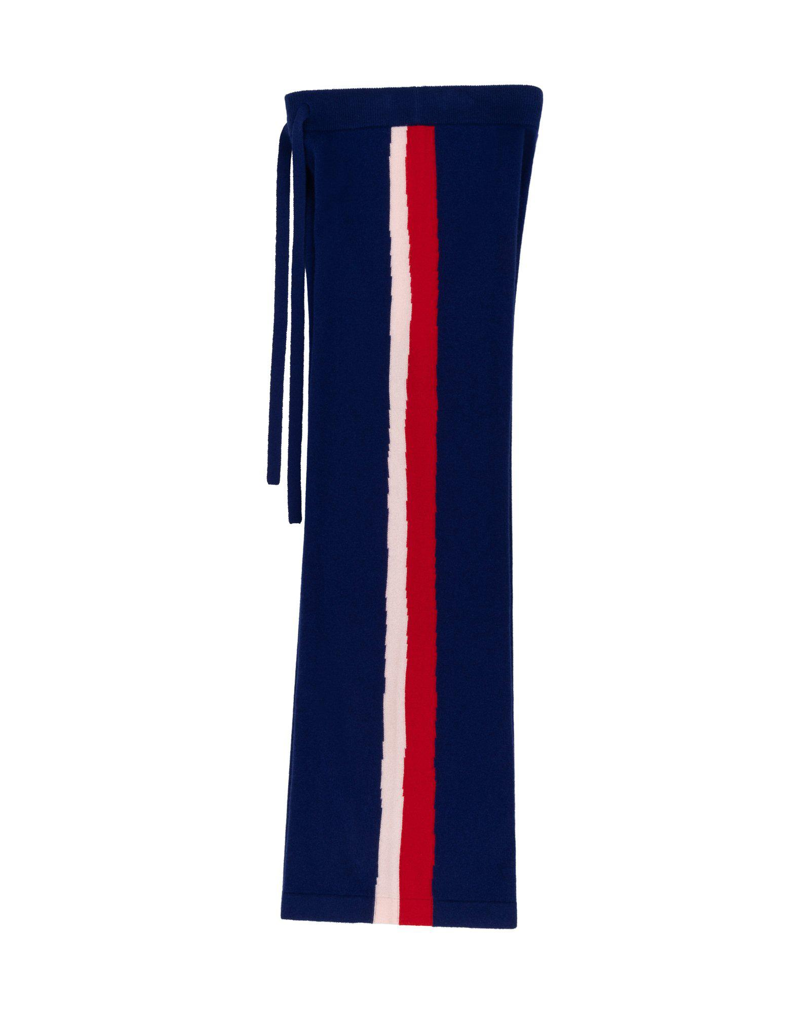 Wavy Knit Wide Track Pant 3