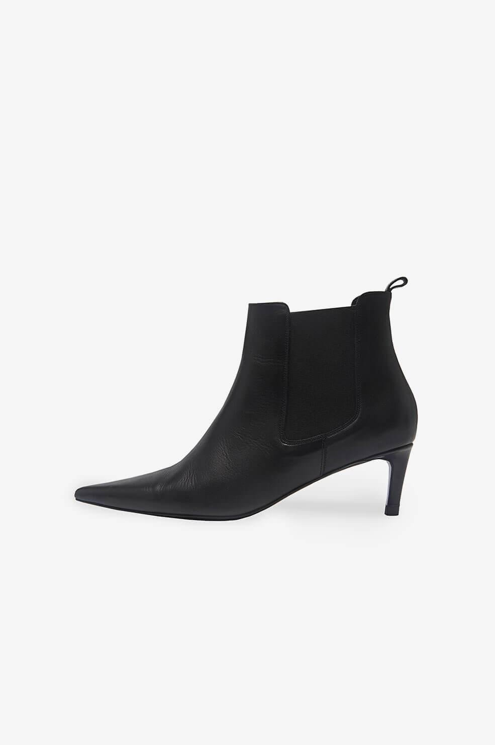 Stevie Boots - Black Leather 2