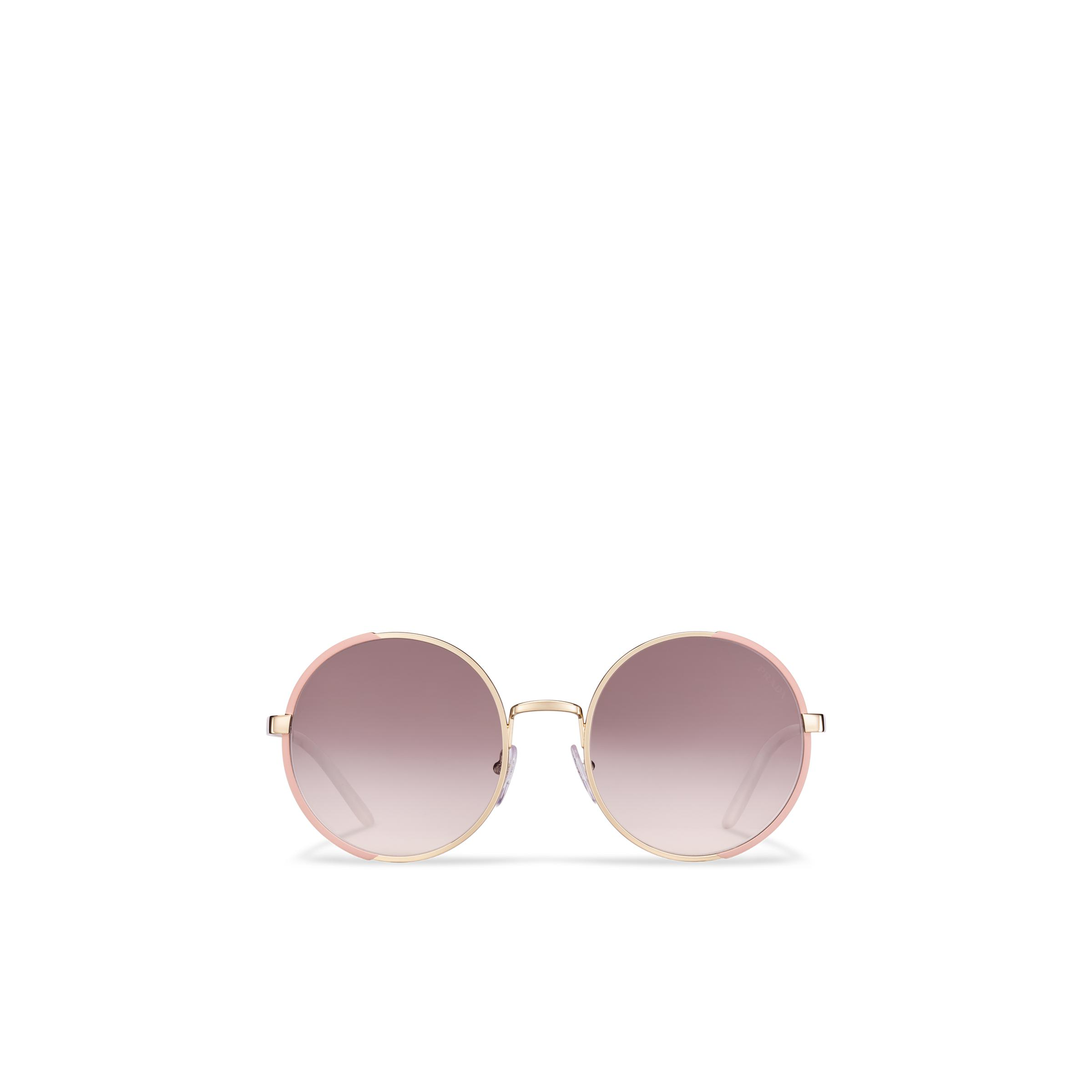 Eyewear Collection Sunglasses Women Gradient Anthracite Gray To Mauve Lenses