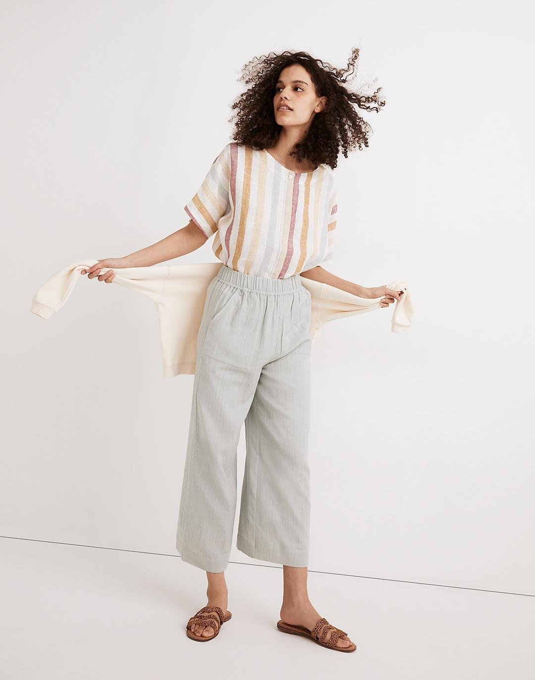 Madewell x LAUDE the Label Everyday Crop Pants
