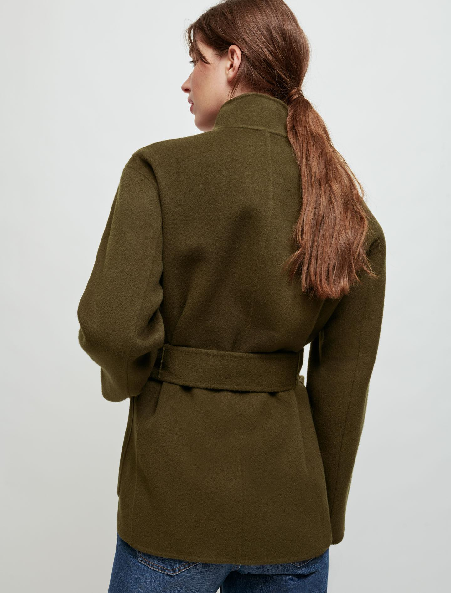 DOUBLE-SIDED BELTED JACKET 2