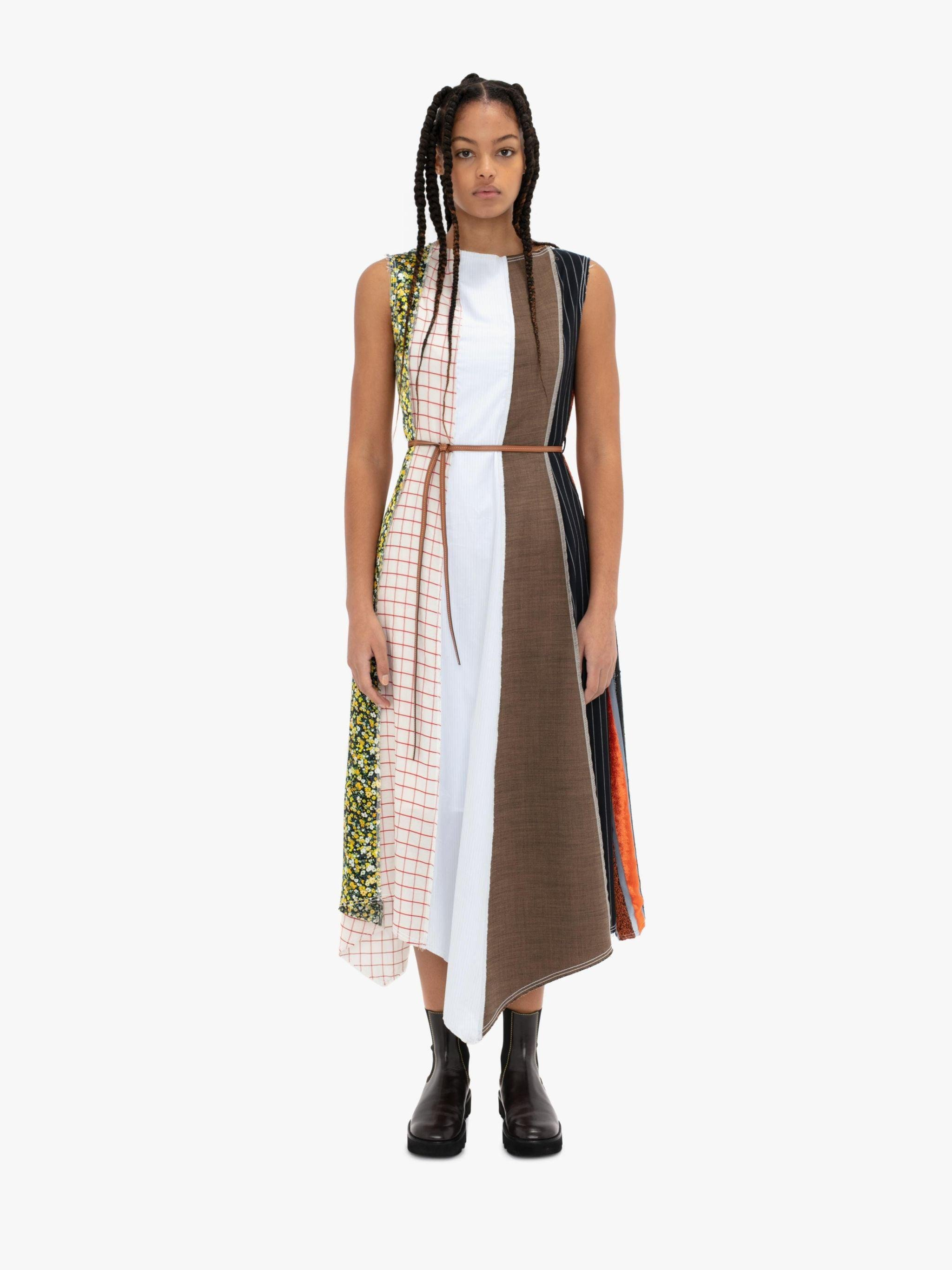 MADE IN BRITAIN: PANEL DRESS