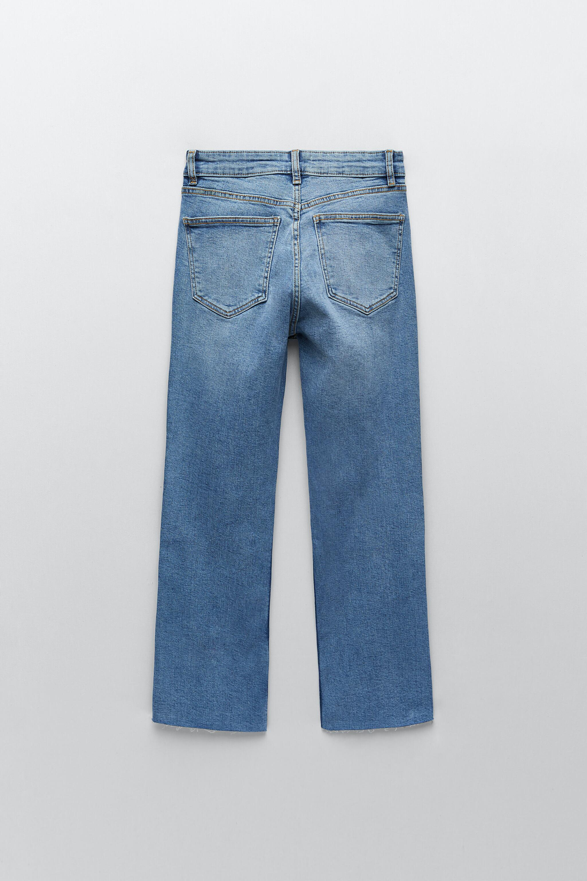 CROPPED FLARE JEANS 6