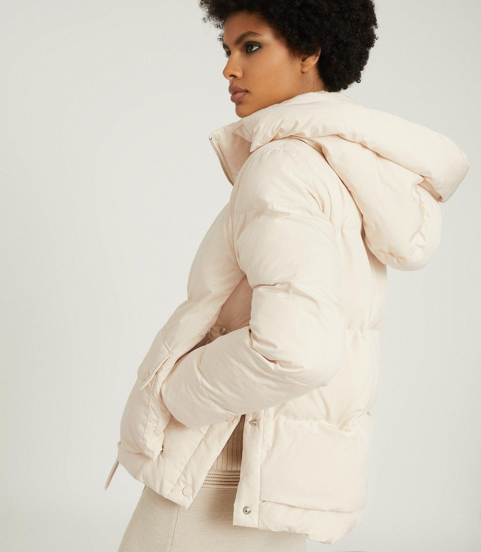 PAIGE - PUFFER JACKET WITH REMOVABLE HOOD 2